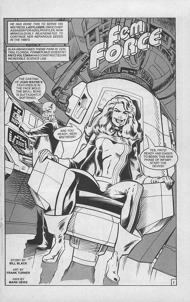 Femforce Issue #46 #46 - English 3