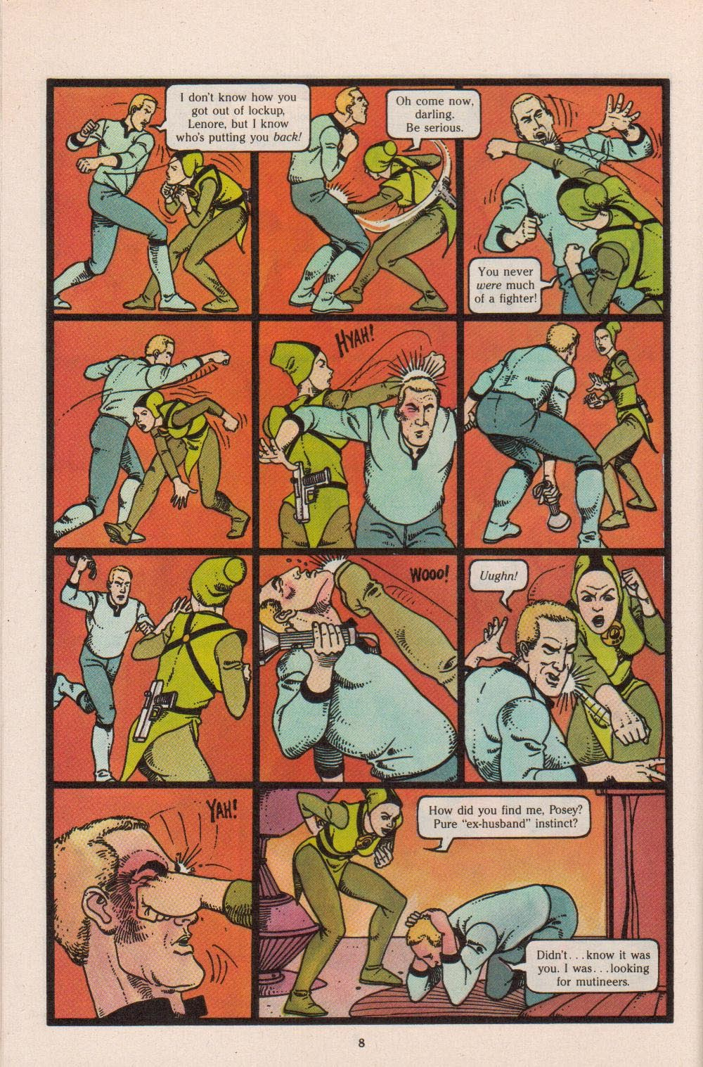 Read online Dalgoda comic -  Issue #8 - 10