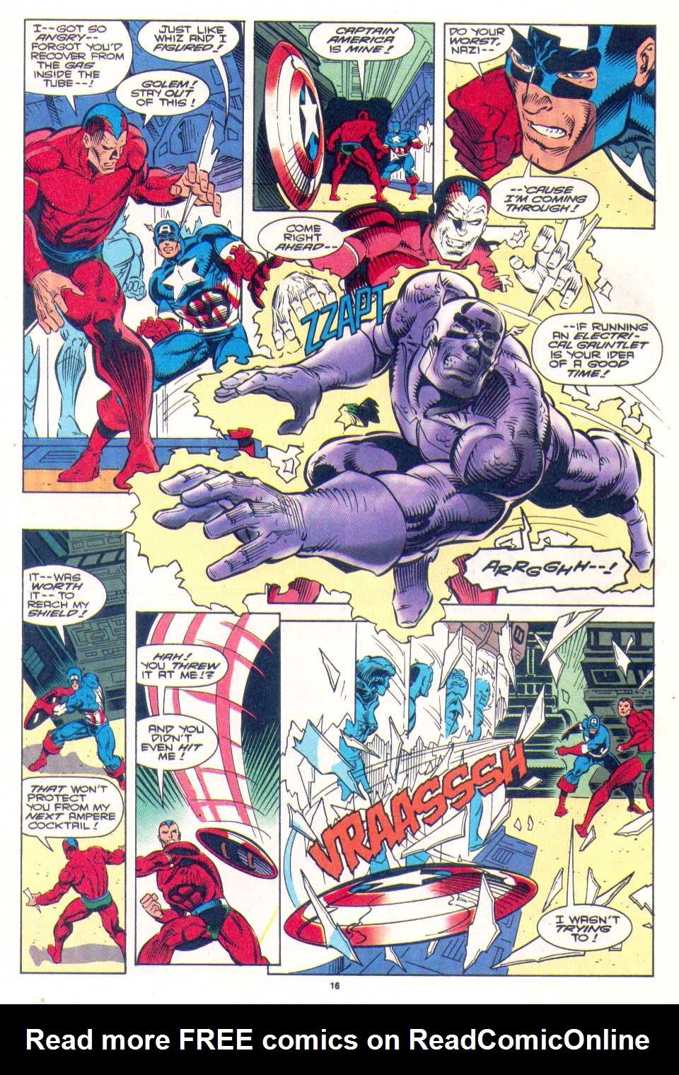 Read online The Invaders (1993) comic -  Issue #4 - 14