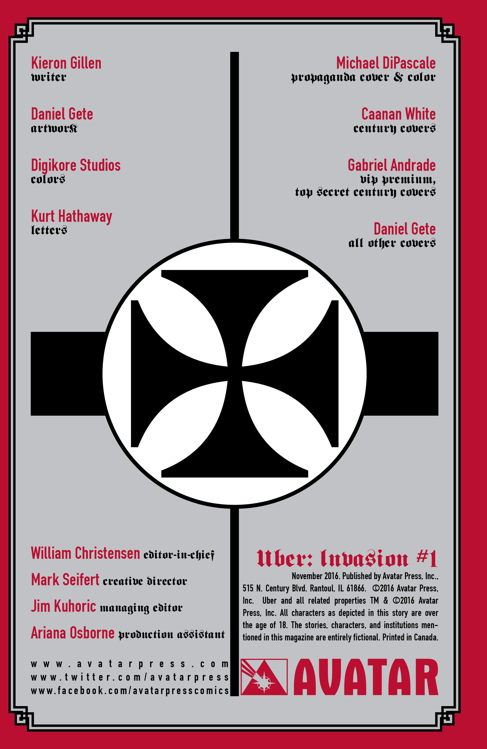 Read online Uber: Invasion comic -  Issue #1 - 27