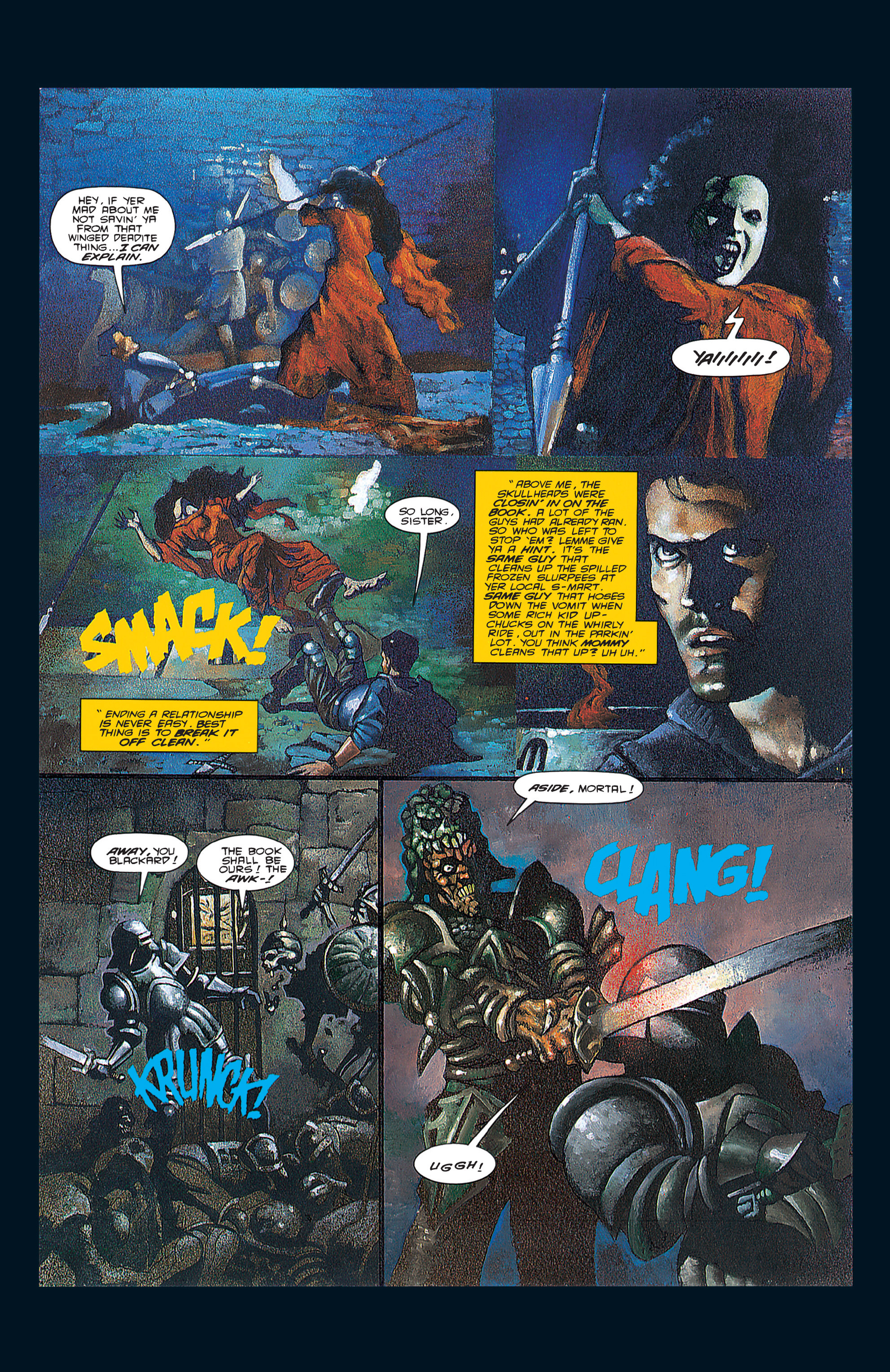 Read online Army of Darkness (1992) comic -  Issue #3 - 19