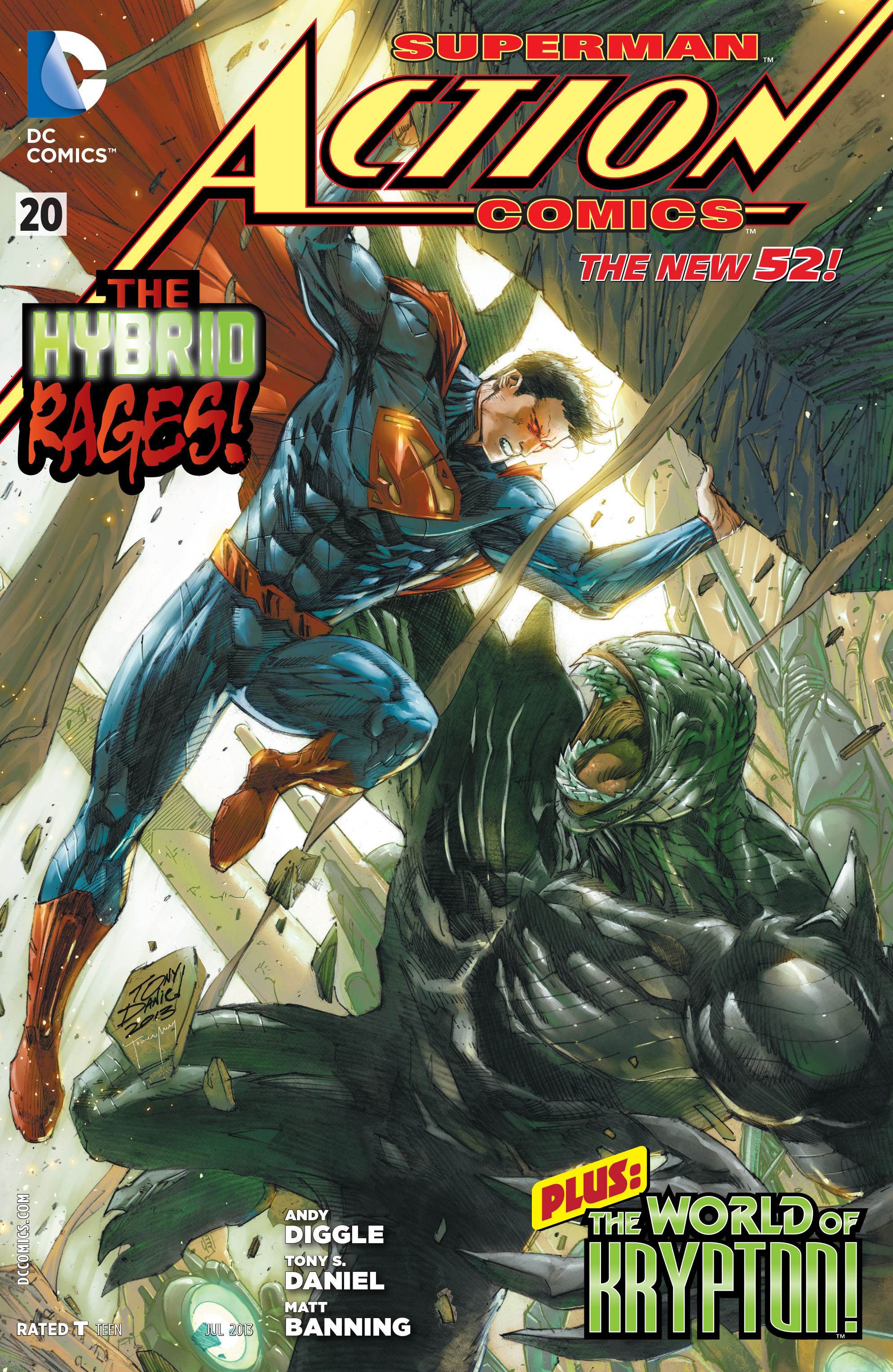 Read online Action Comics (2011) comic -  Issue #20 - 1