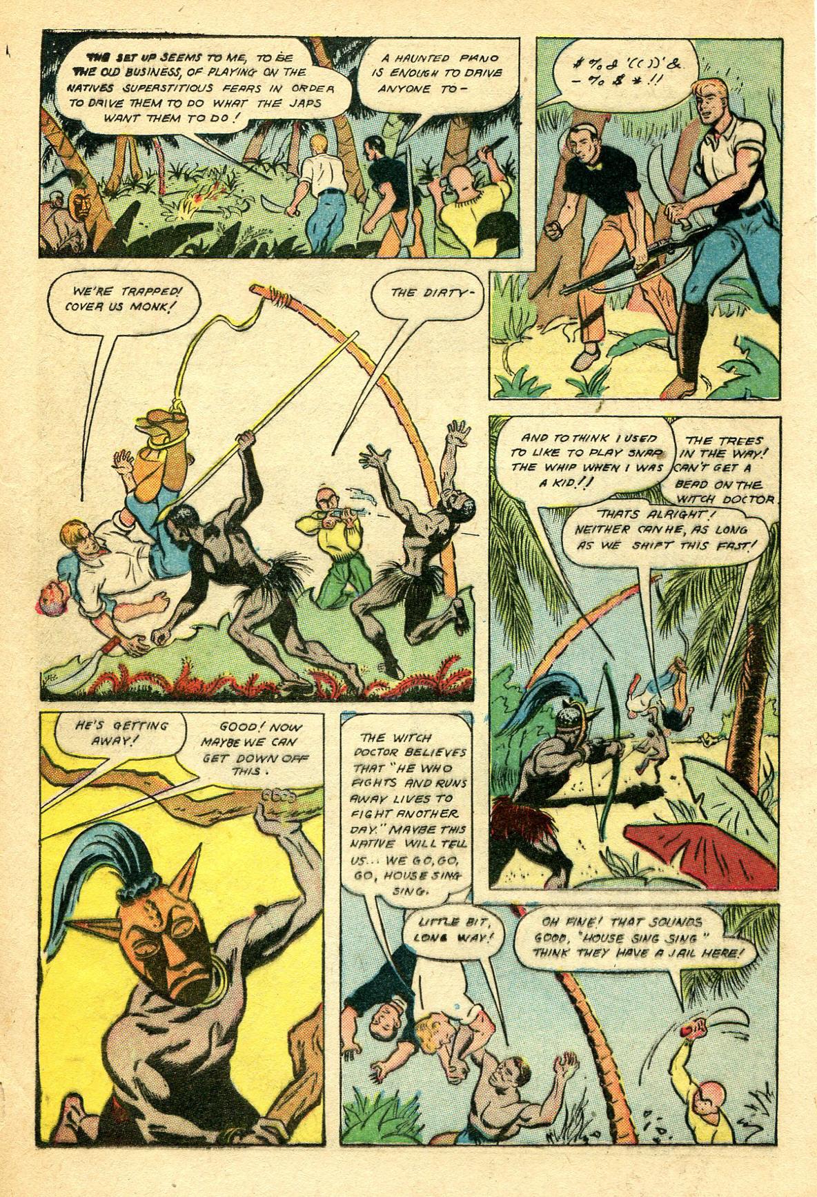 Read online Shadow Comics comic -  Issue #44 - 29