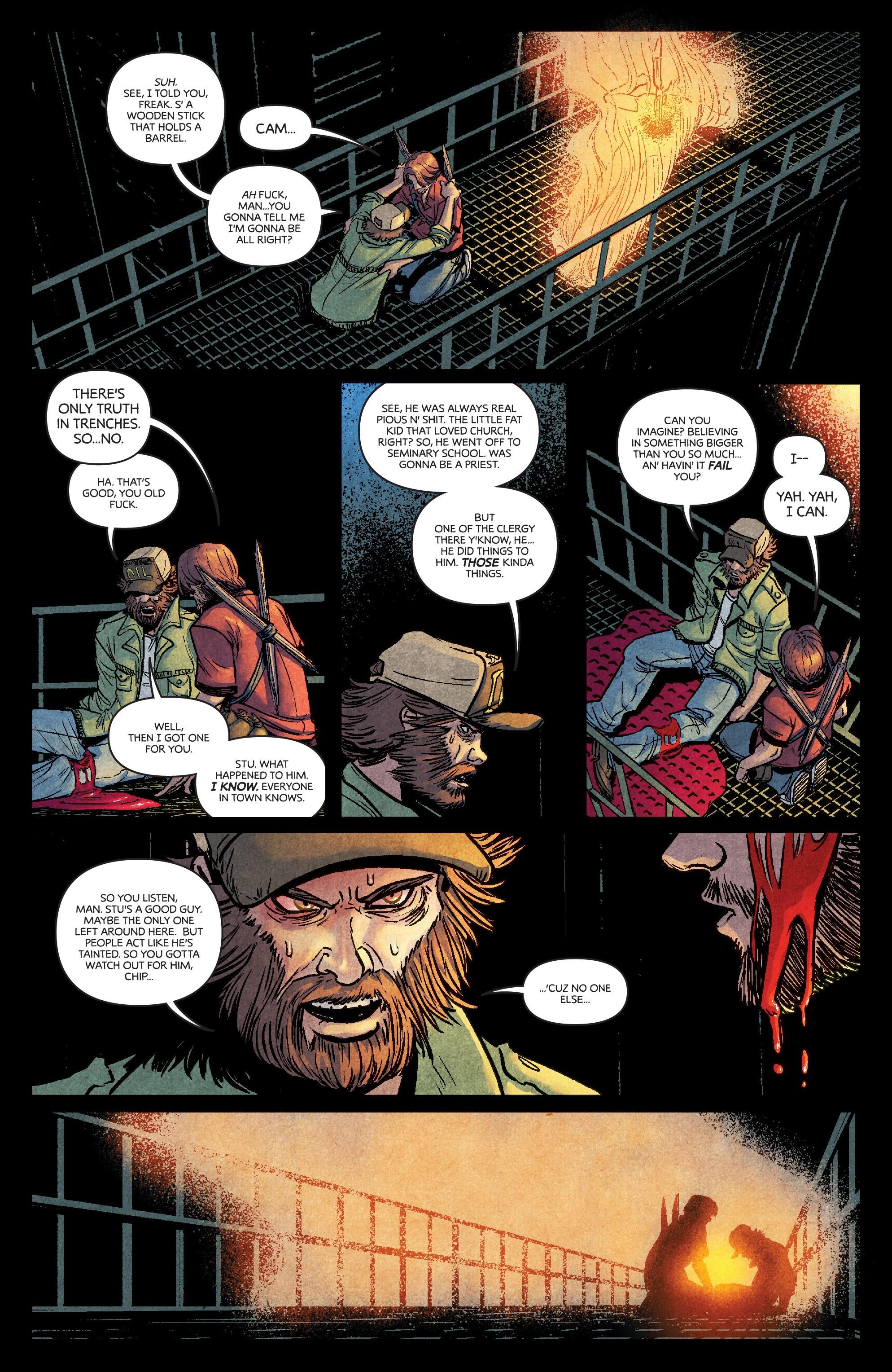 Read online Dark Red comic -  Issue #4 - 20