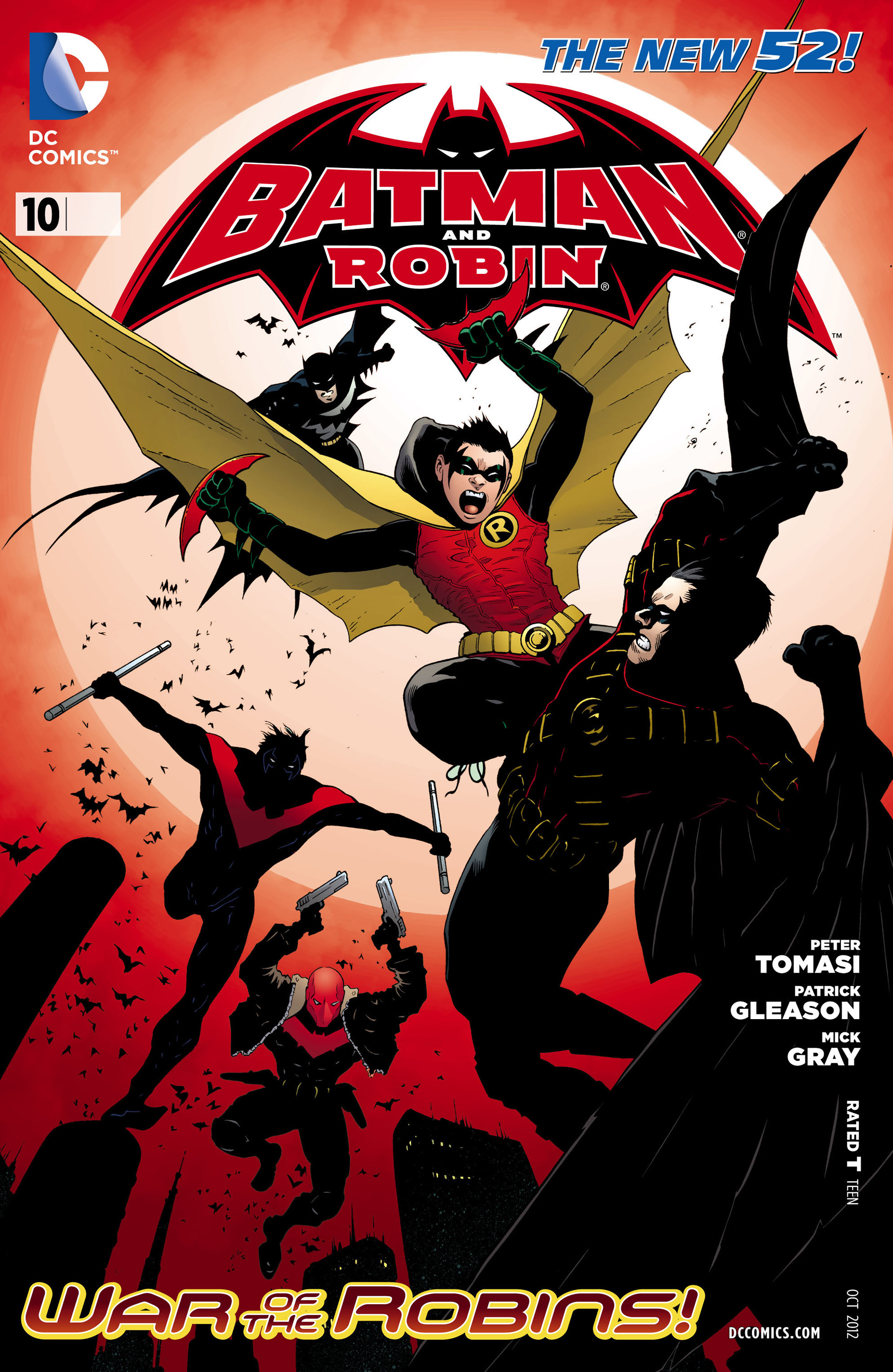 Read online Batman and Robin (2011) comic -  Issue #10 - 2