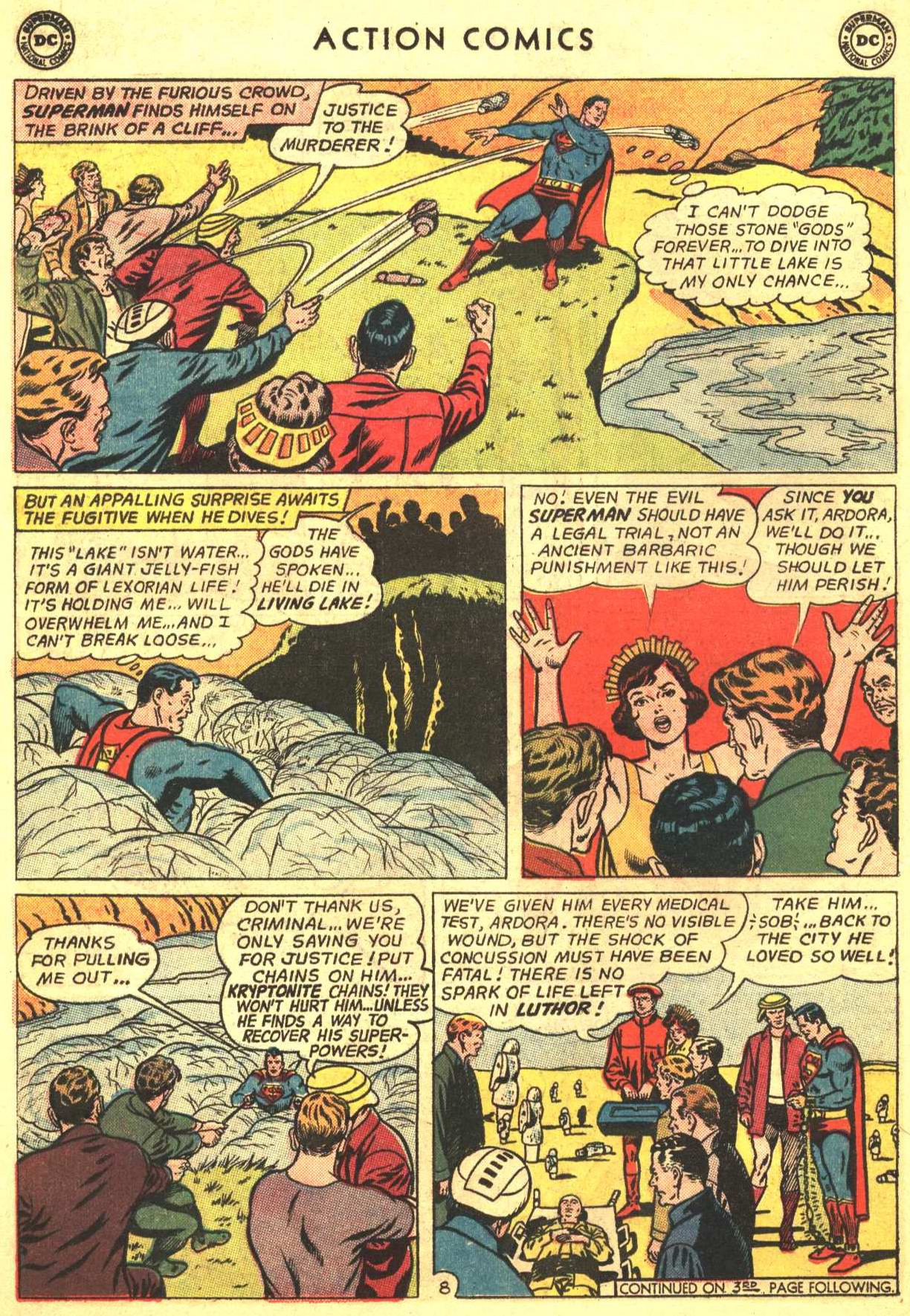 Read online Action Comics (1938) comic -  Issue #318 - 9