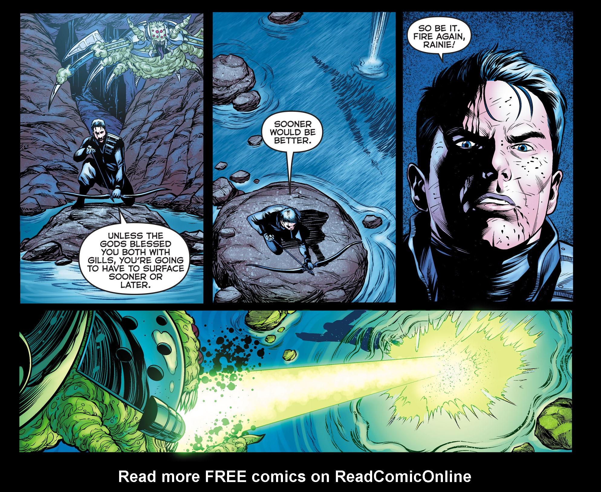 Read online Arrow: The Dark Archer comic -  Issue #10 - 9