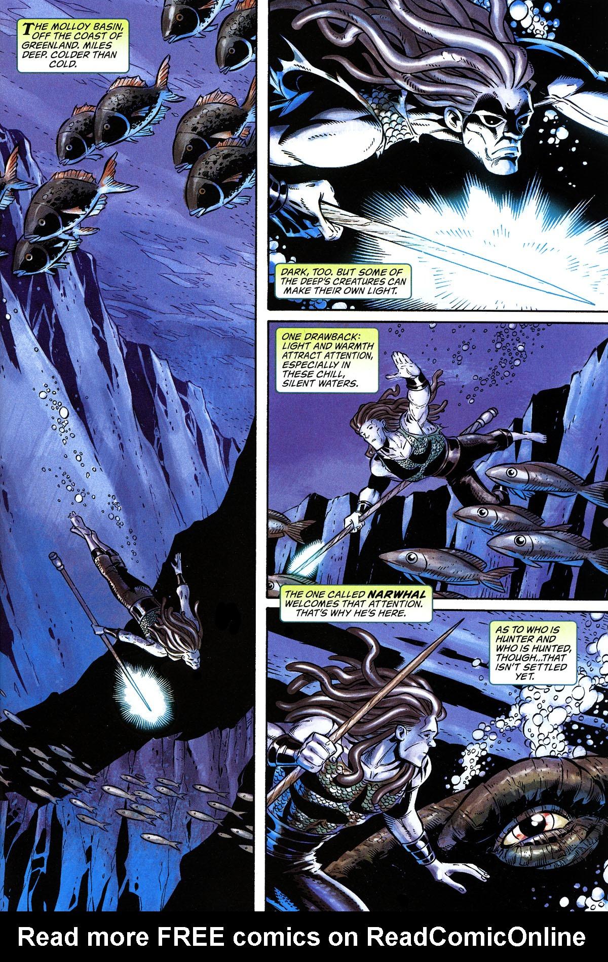 Read online Aquaman: Sword of Atlantis comic -  Issue #50 - 2