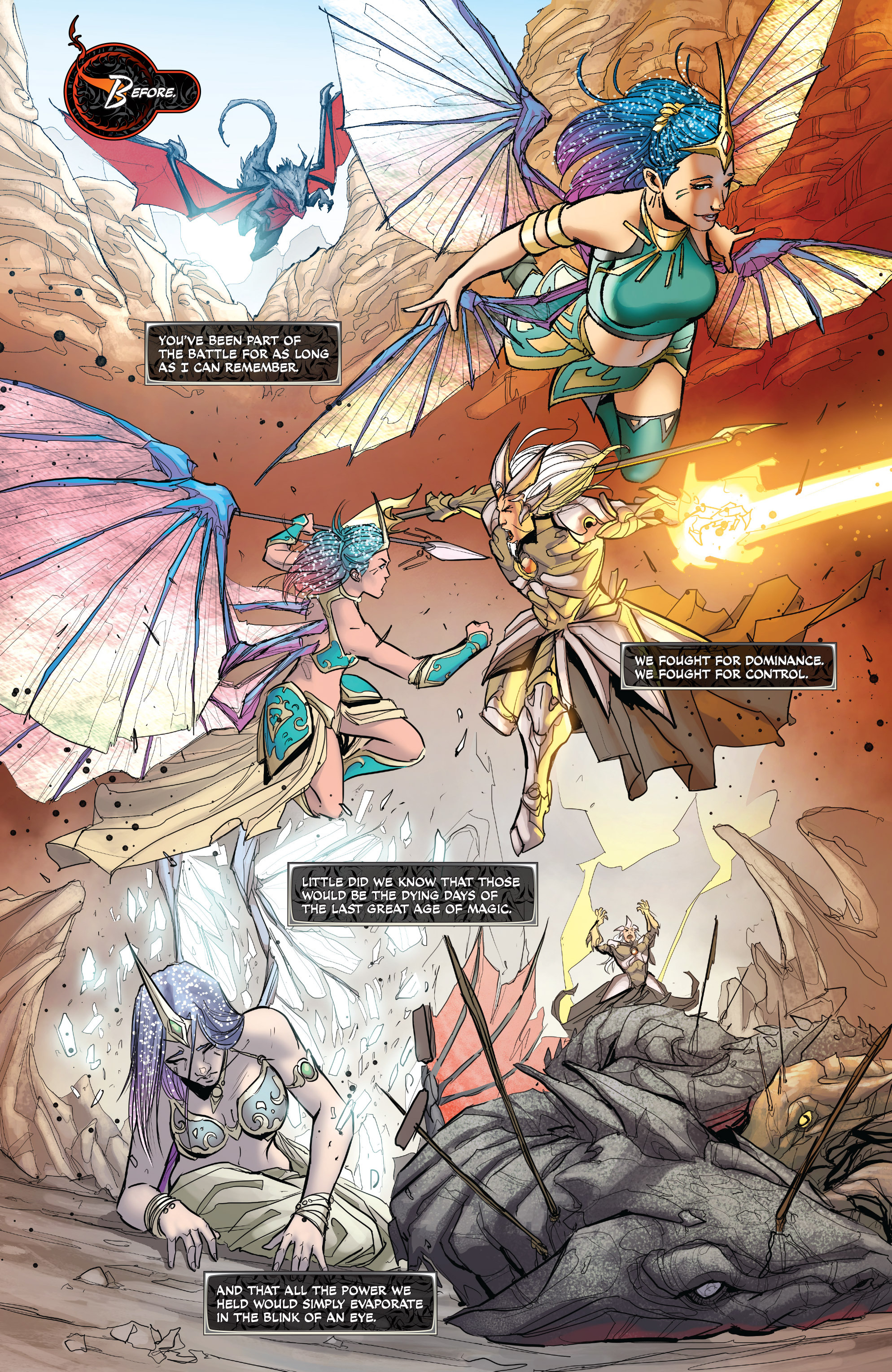 Read online All-New Soulfire Vol. 6 comic -  Issue #3 - 14