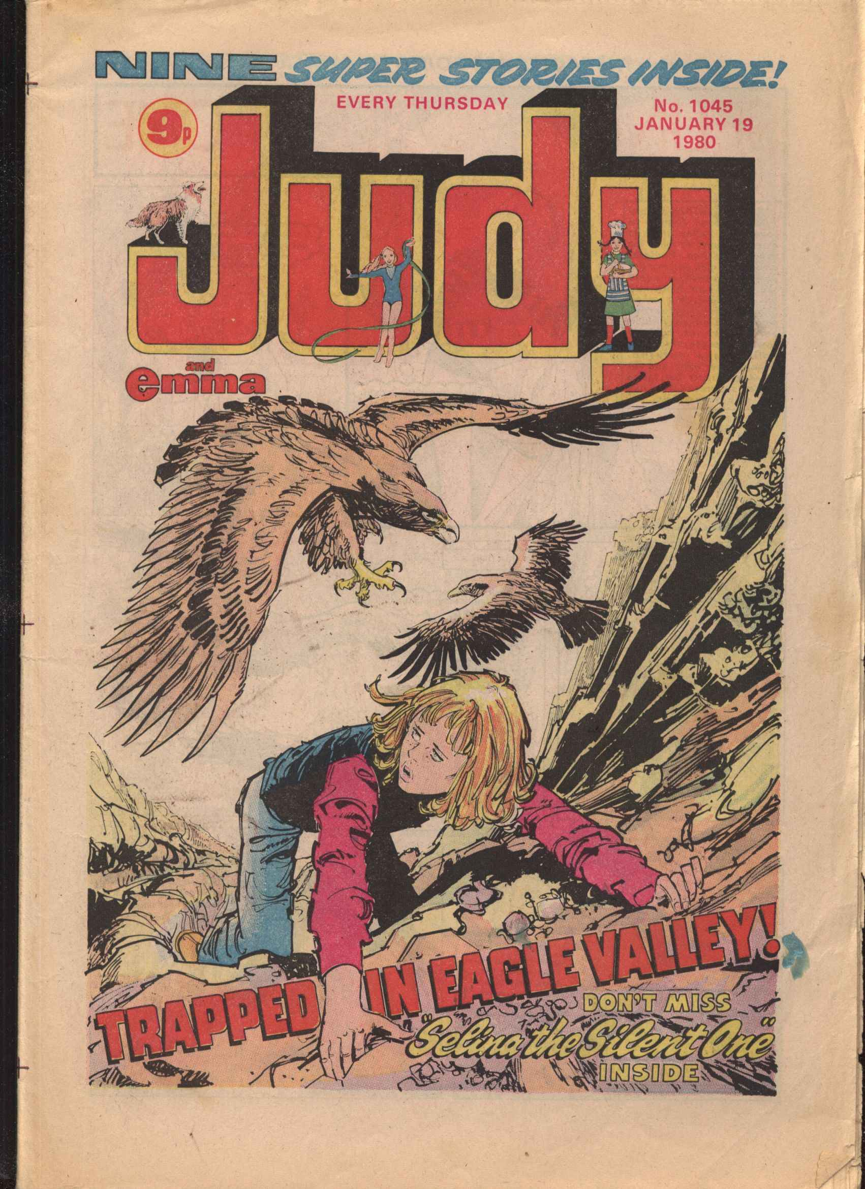 Read online Judy comic -  Issue #1045 - 1
