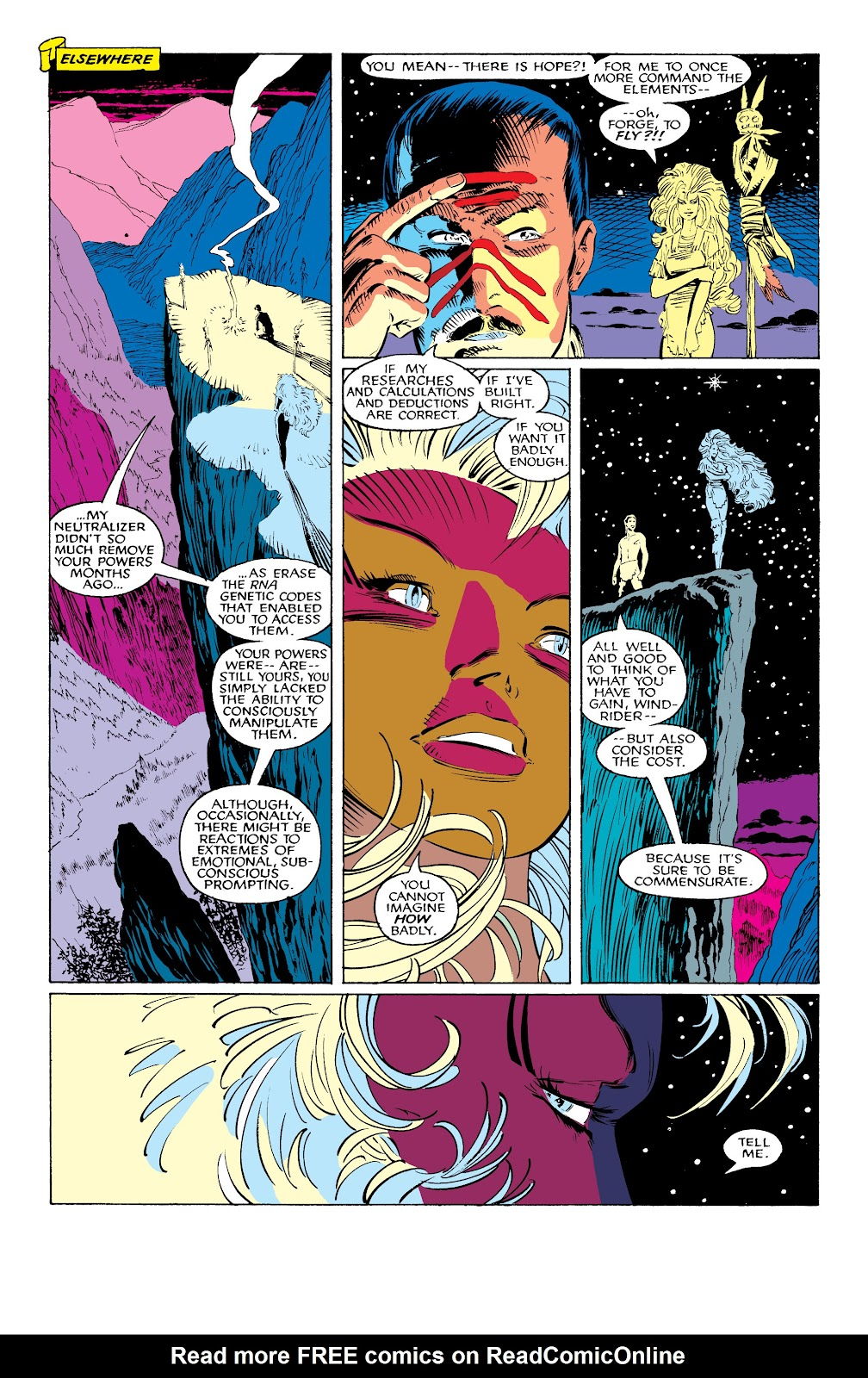 Read online X-Men Milestones: Fall of the Mutants comic -  Issue # TPB (Part 1) - 61