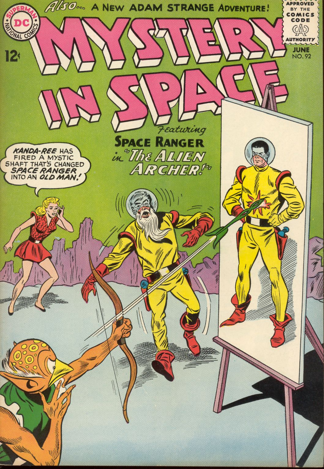 Mystery in Space (1951) issue 92 - Page 1