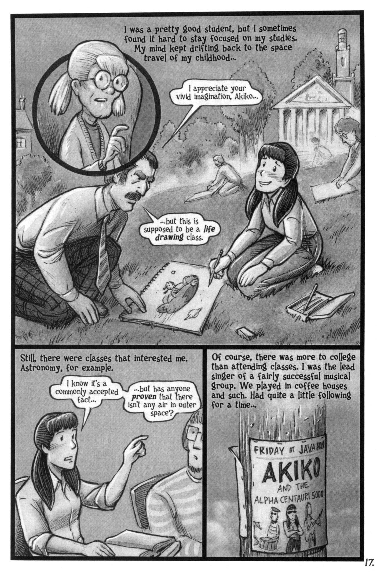 Read online Akiko comic -  Issue #51 - 16
