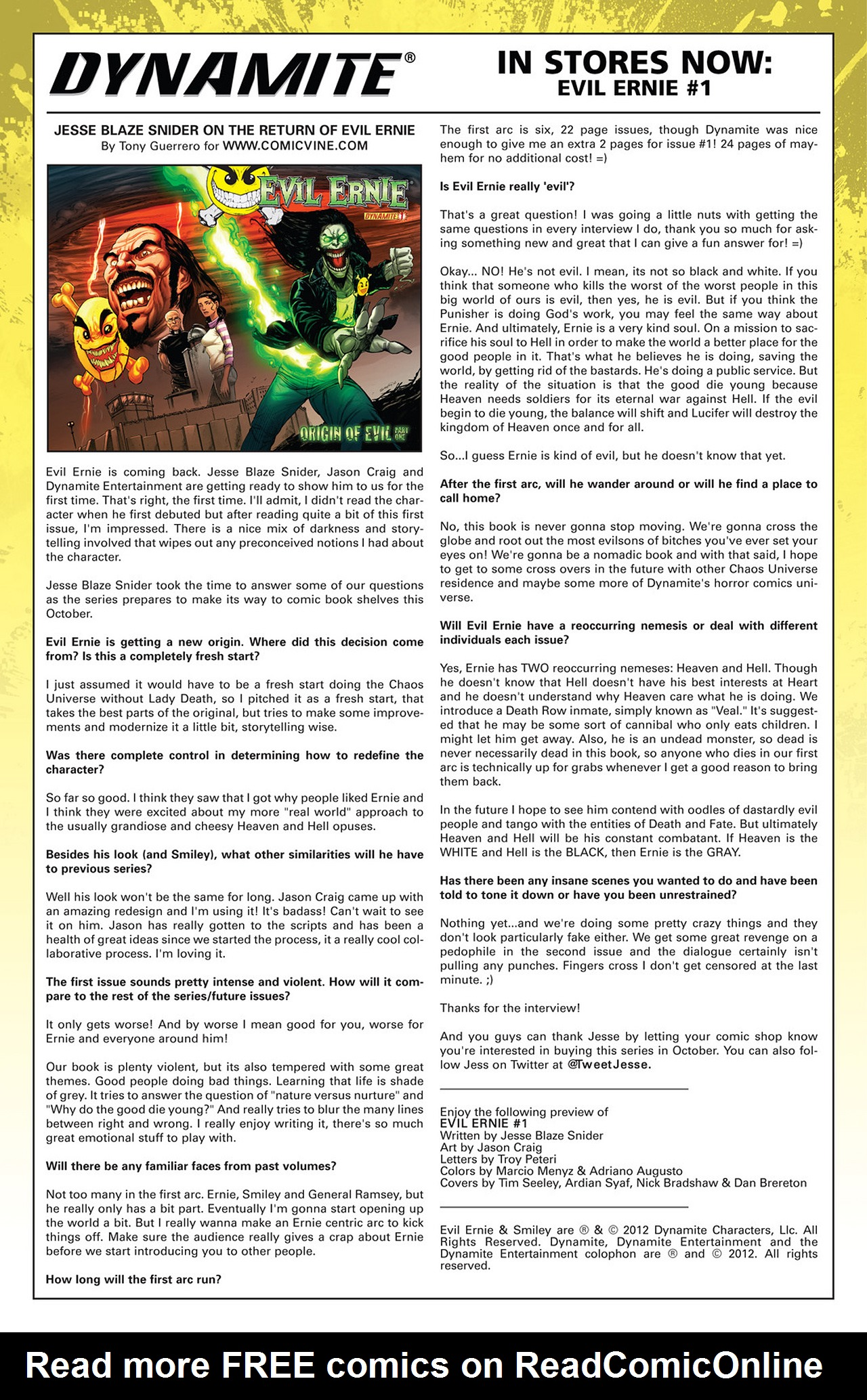 Read online Prophecy comic -  Issue #4 - 25