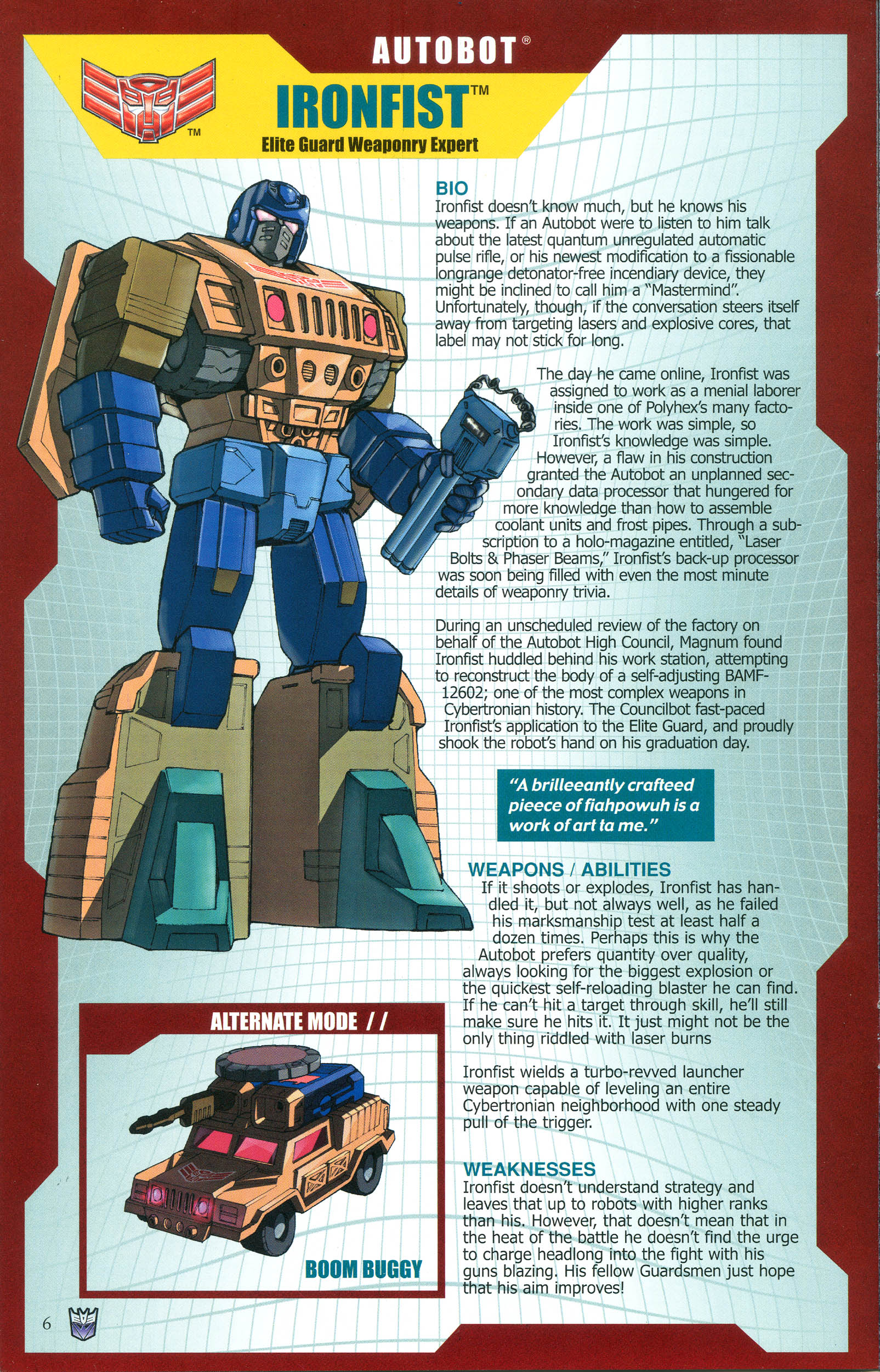 Read online Transformers: Collectors' Club comic -  Issue #36 - 6