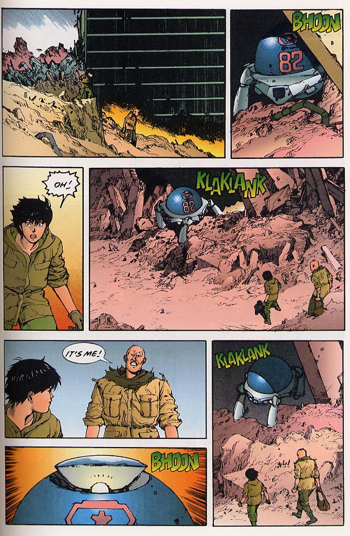 Read online Akira comic -  Issue #25 - 42