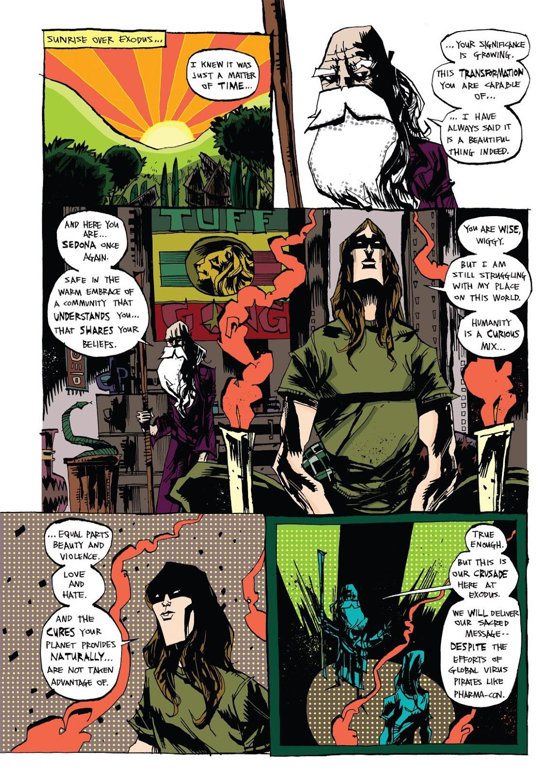Read online Marijuanaman comic -  Issue # Full - 27