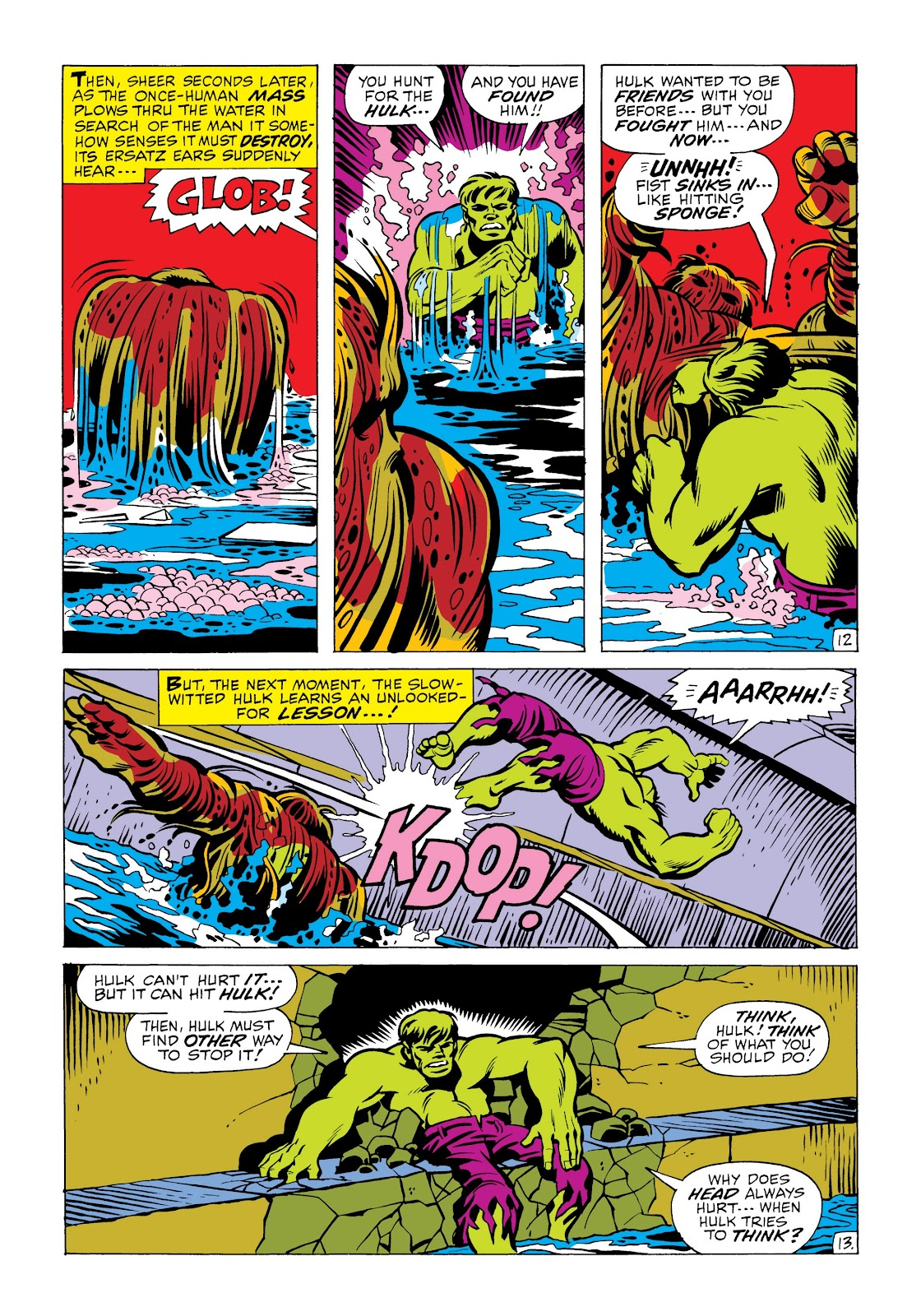 Read online Marvel Masterworks: The Incredible Hulk comic -  Issue # TPB 6 (Part 2) - 66