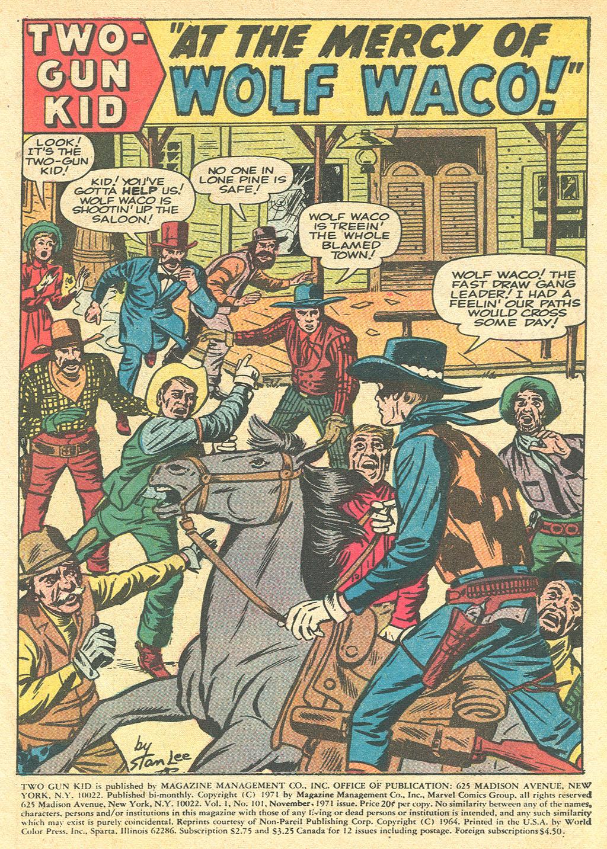 Read online Two-Gun Kid comic -  Issue #101 - 3