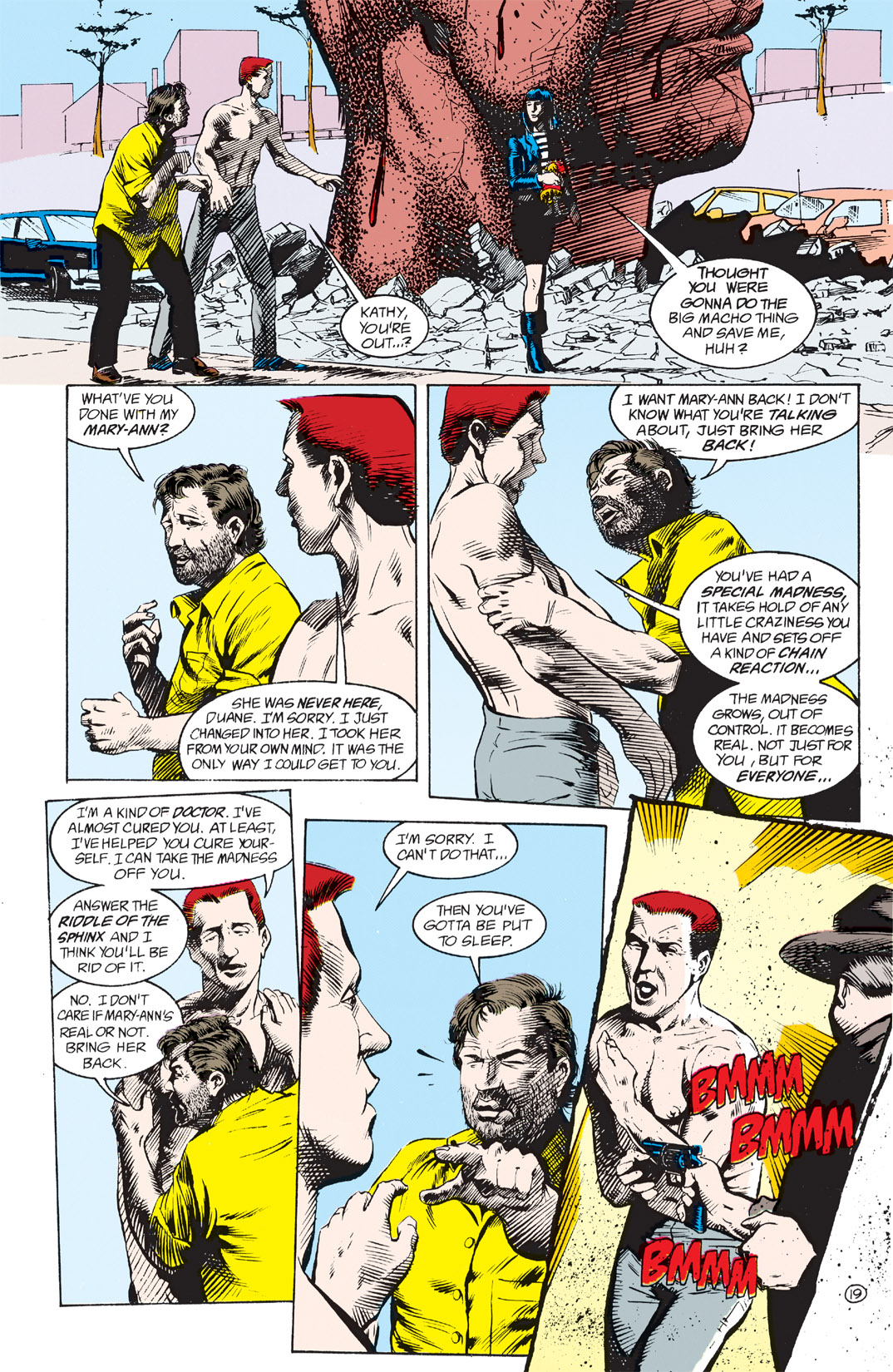 Read online Shade, the Changing Man comic -  Issue #3 - 21