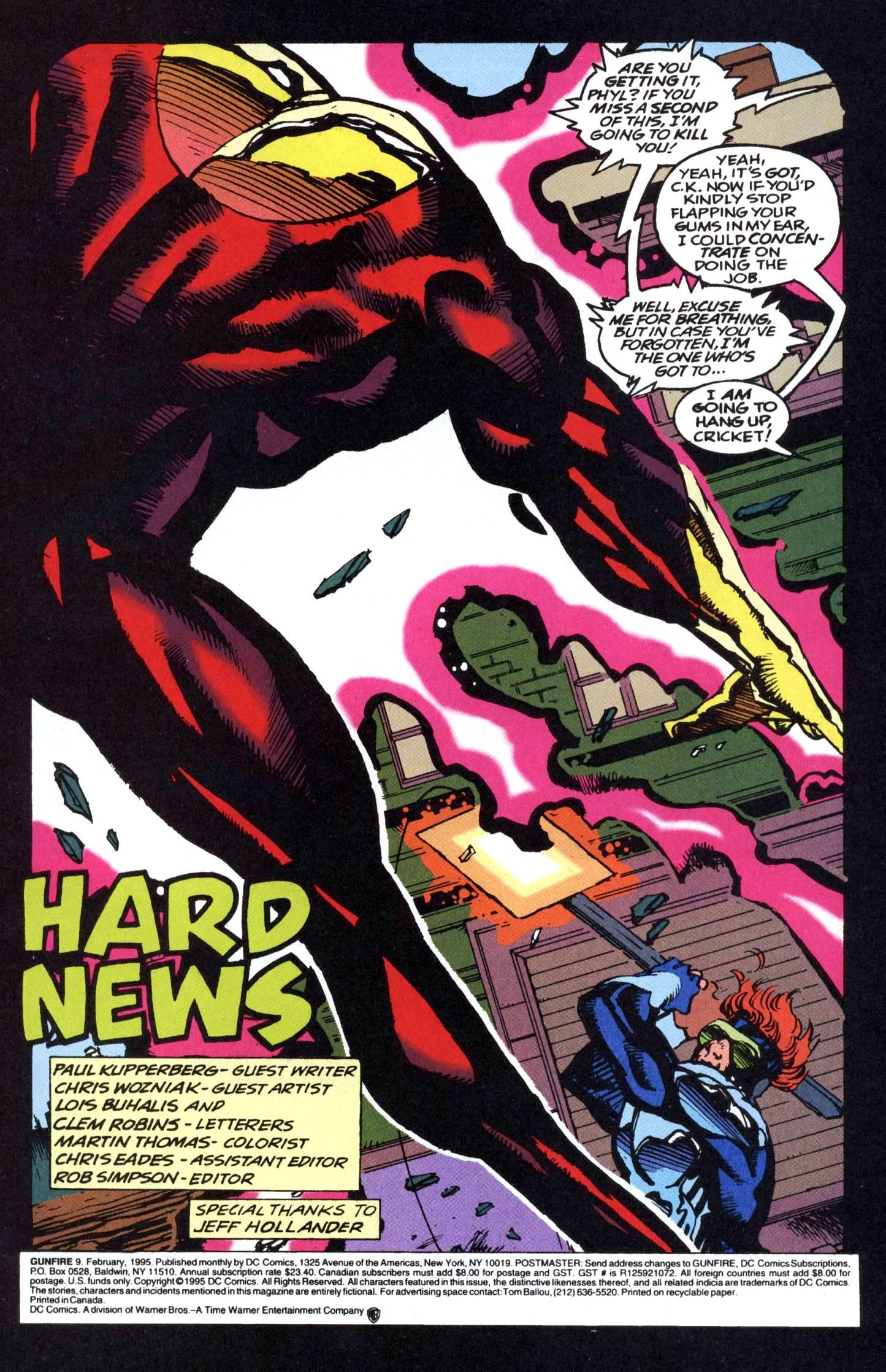 Read online Gunfire comic -  Issue #9 - 3