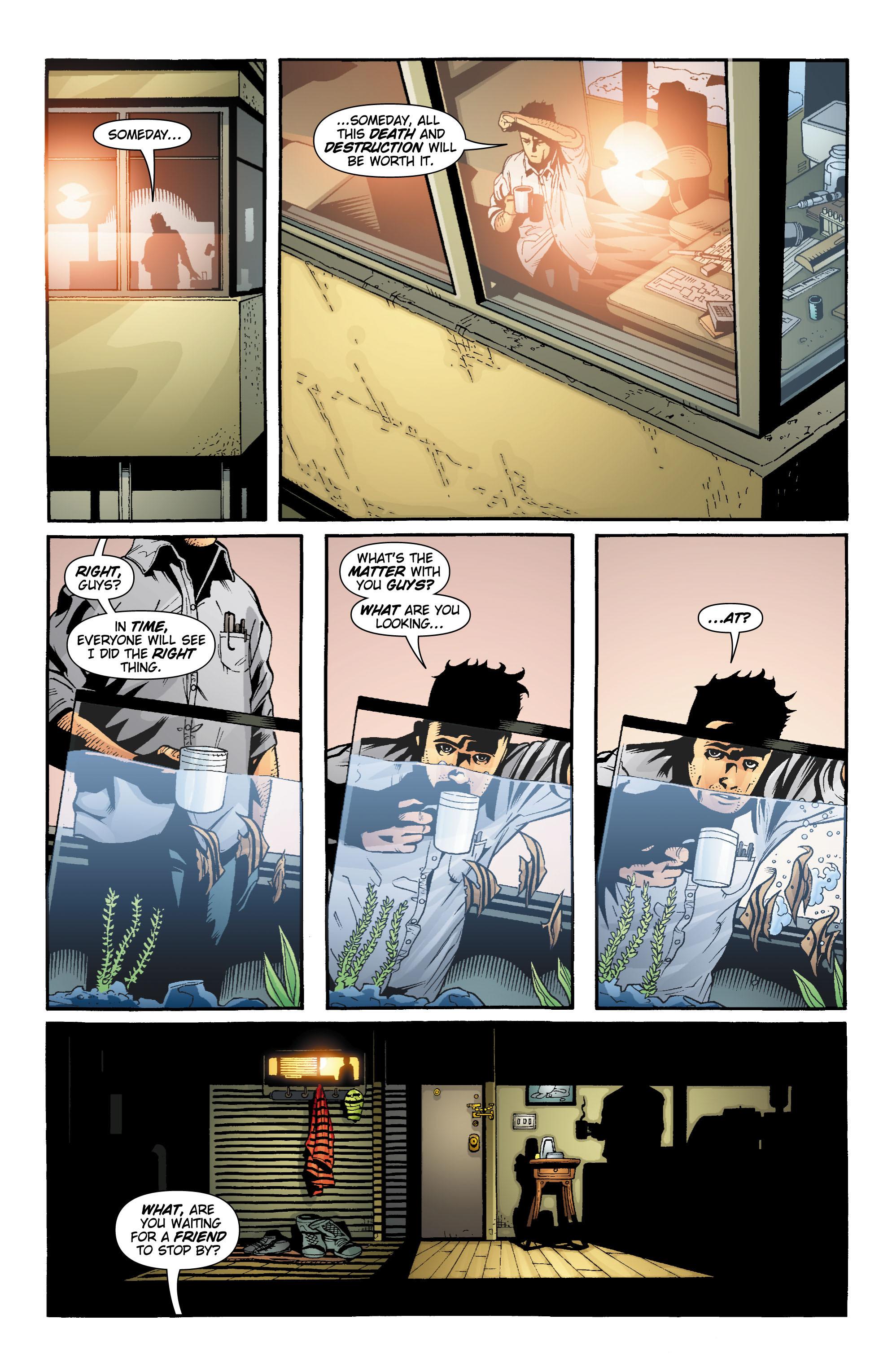 Read online Aquaman (2003) comic -  Issue #18 - 22