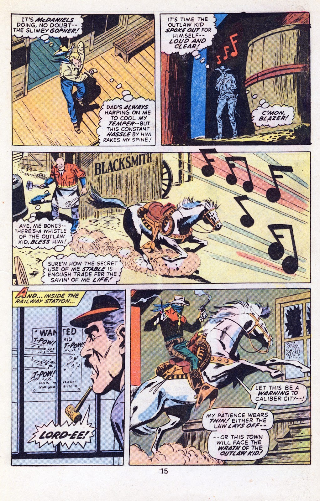 The Outlaw Kid (1970) issue 29 - Page 17