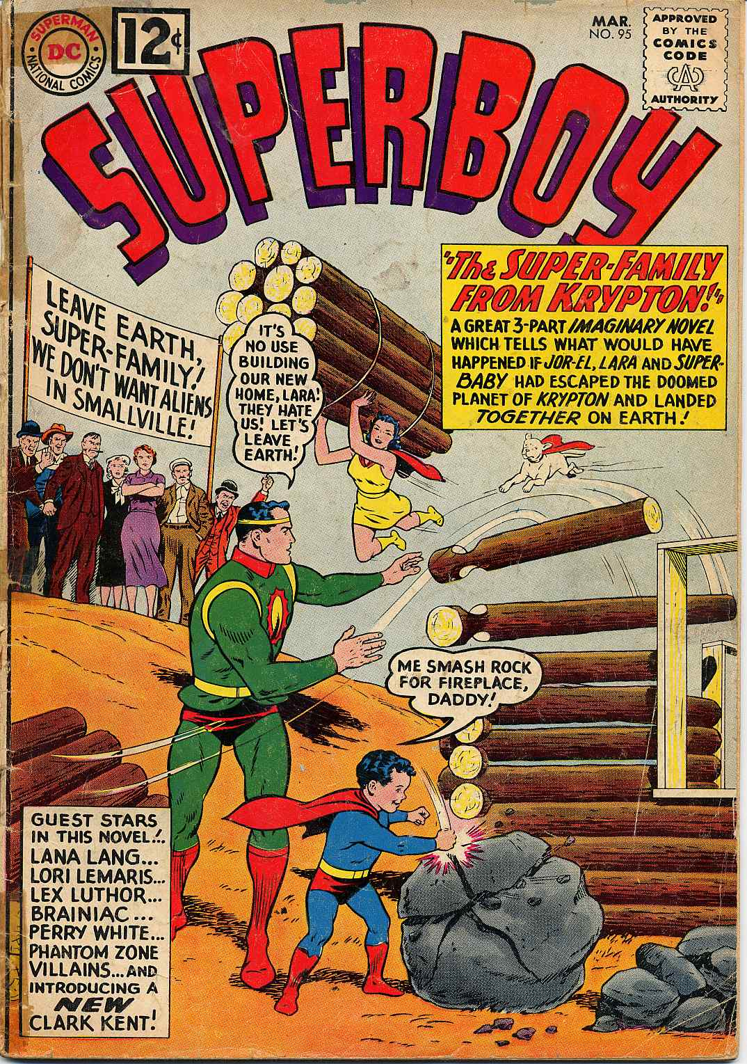 Superboy (1949) issue 95 - Page 1