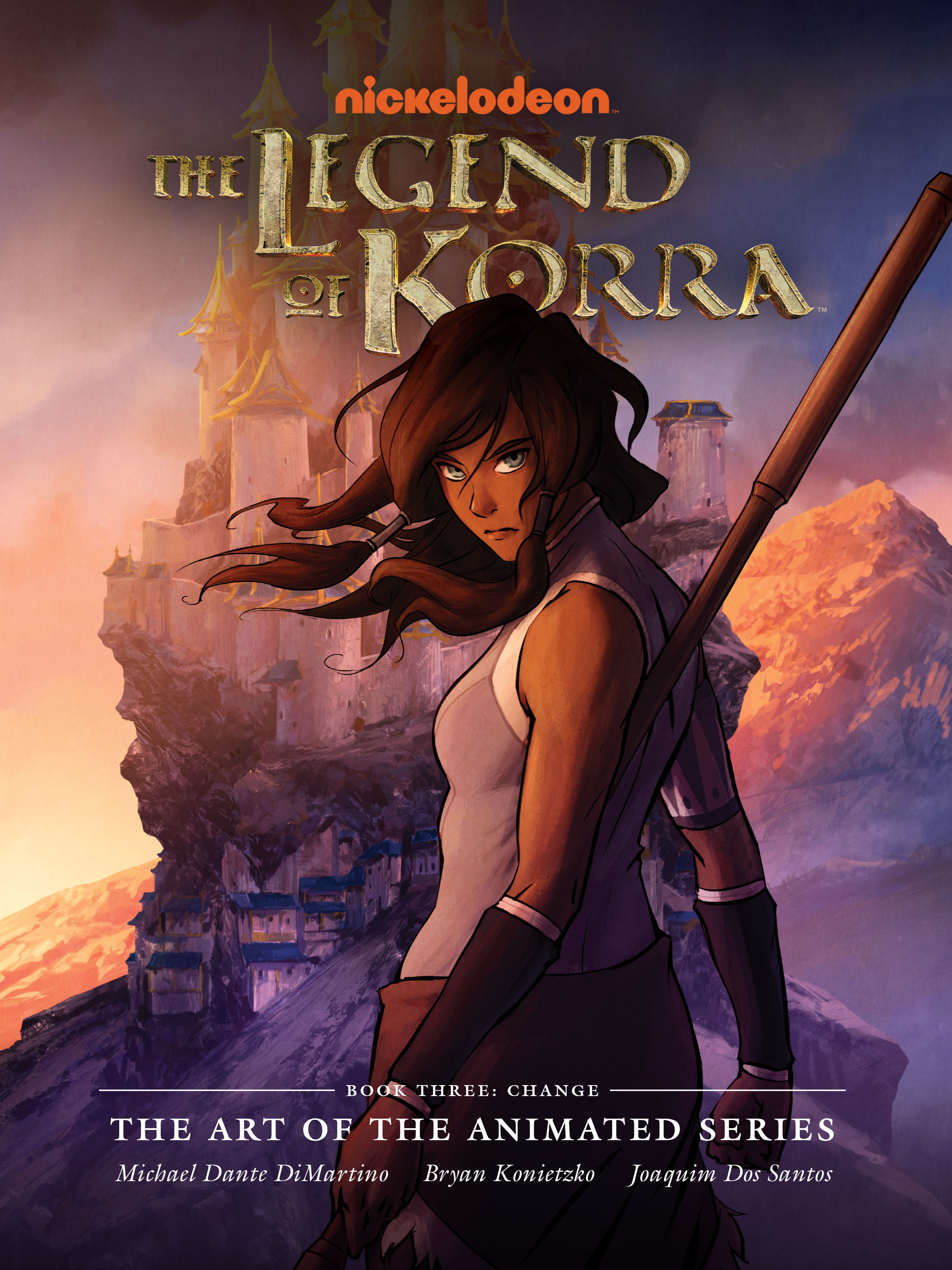 The Legend of Korra: The Art of the Animated Series TPB_3 Page 1