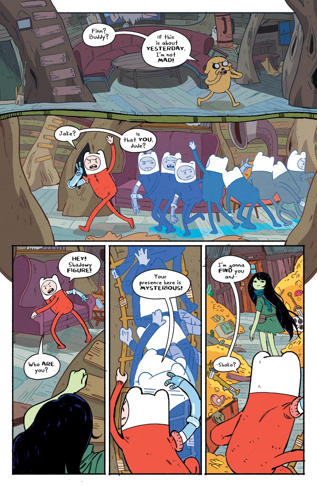 Read online Adventure Time: Beginning of the End comic -  Issue # _TPB - 11