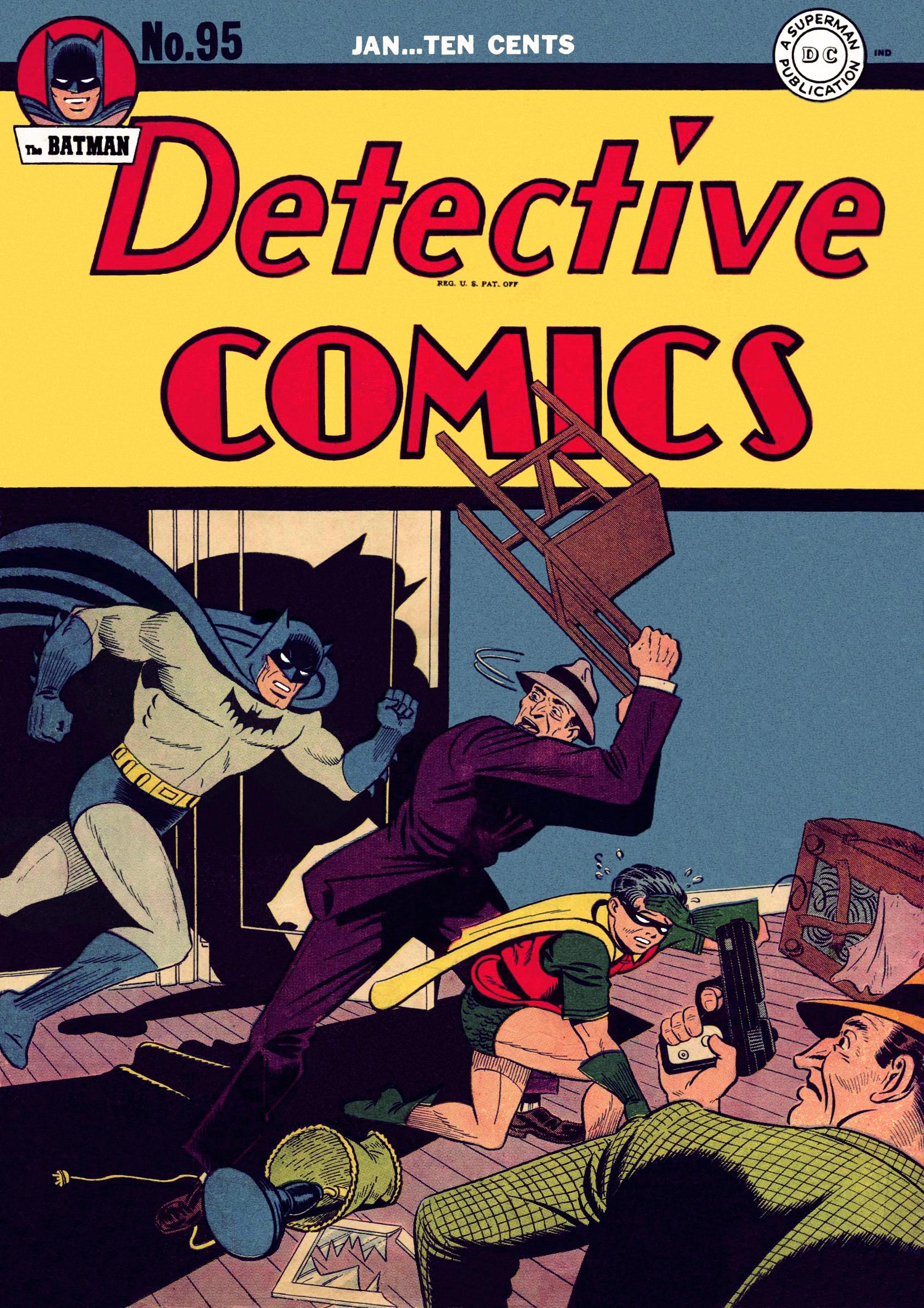Detective Comics (1937) 95 Page 0
