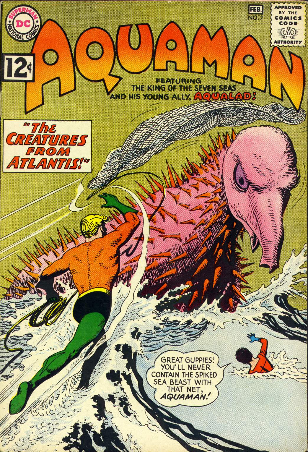 Read online Aquaman (1962) comic -  Issue #7 - 1