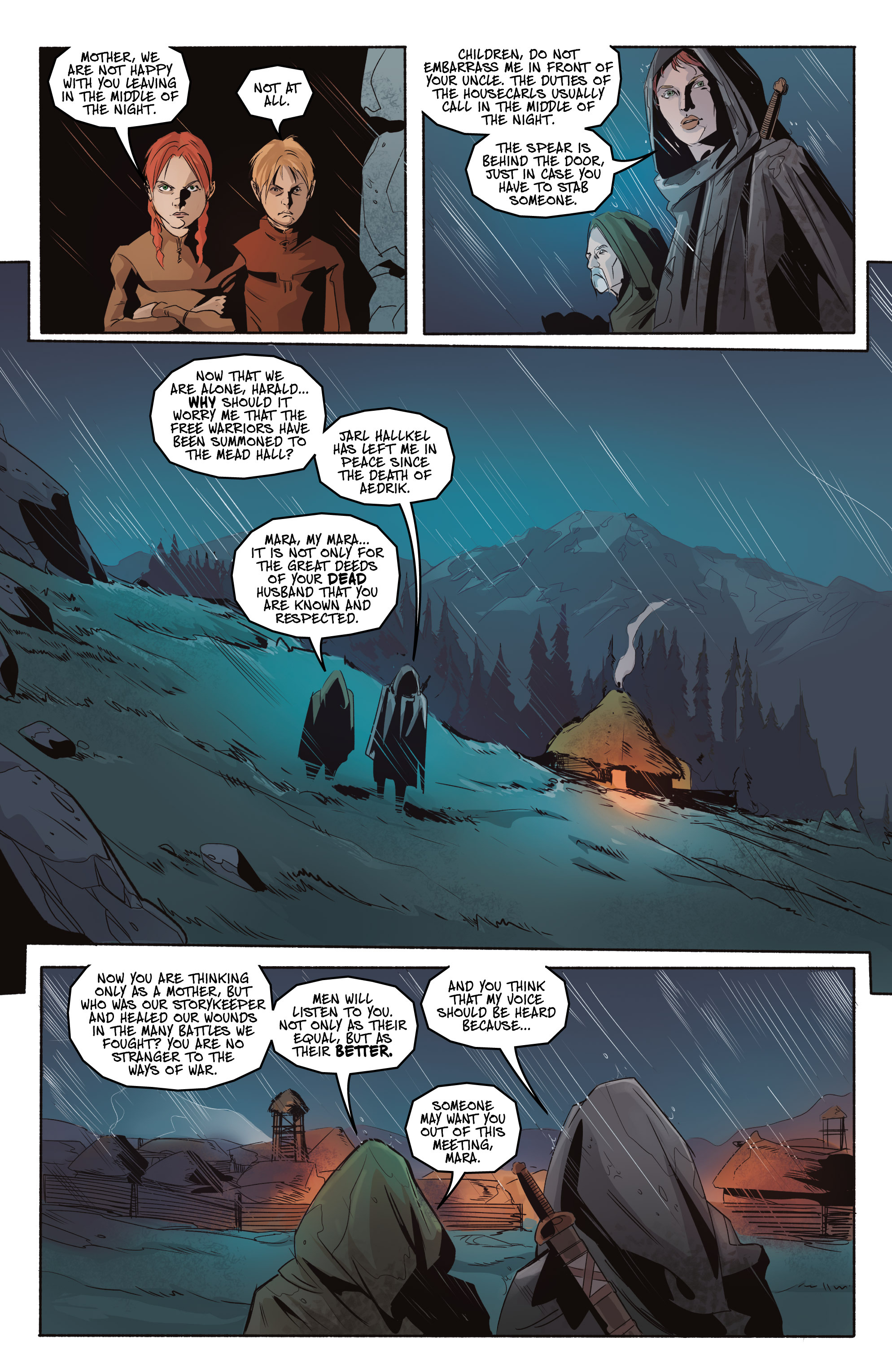 Read online Ghost Wolf comic -  Issue #3 - 6