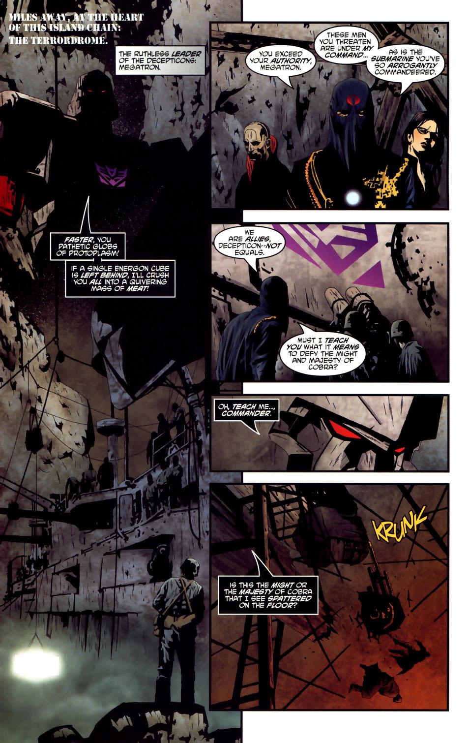 Read online Transformers/G.I. Joe comic -  Issue #3 - 9