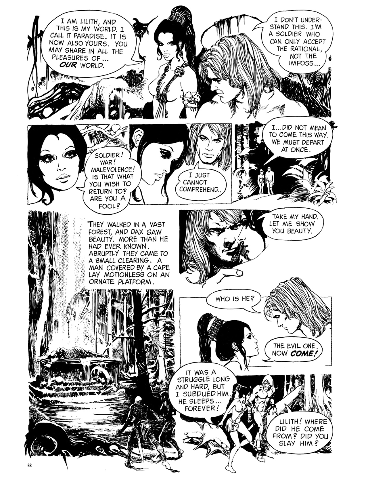 Read online Eerie Archives comic -  Issue # TPB 9 - 69