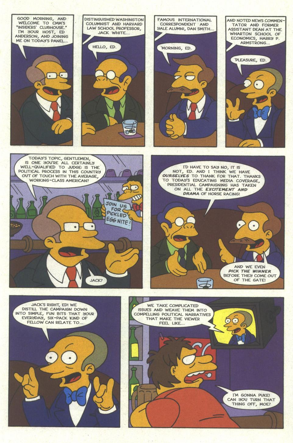 Read online Simpsons Comics comic -  Issue #24 - 18