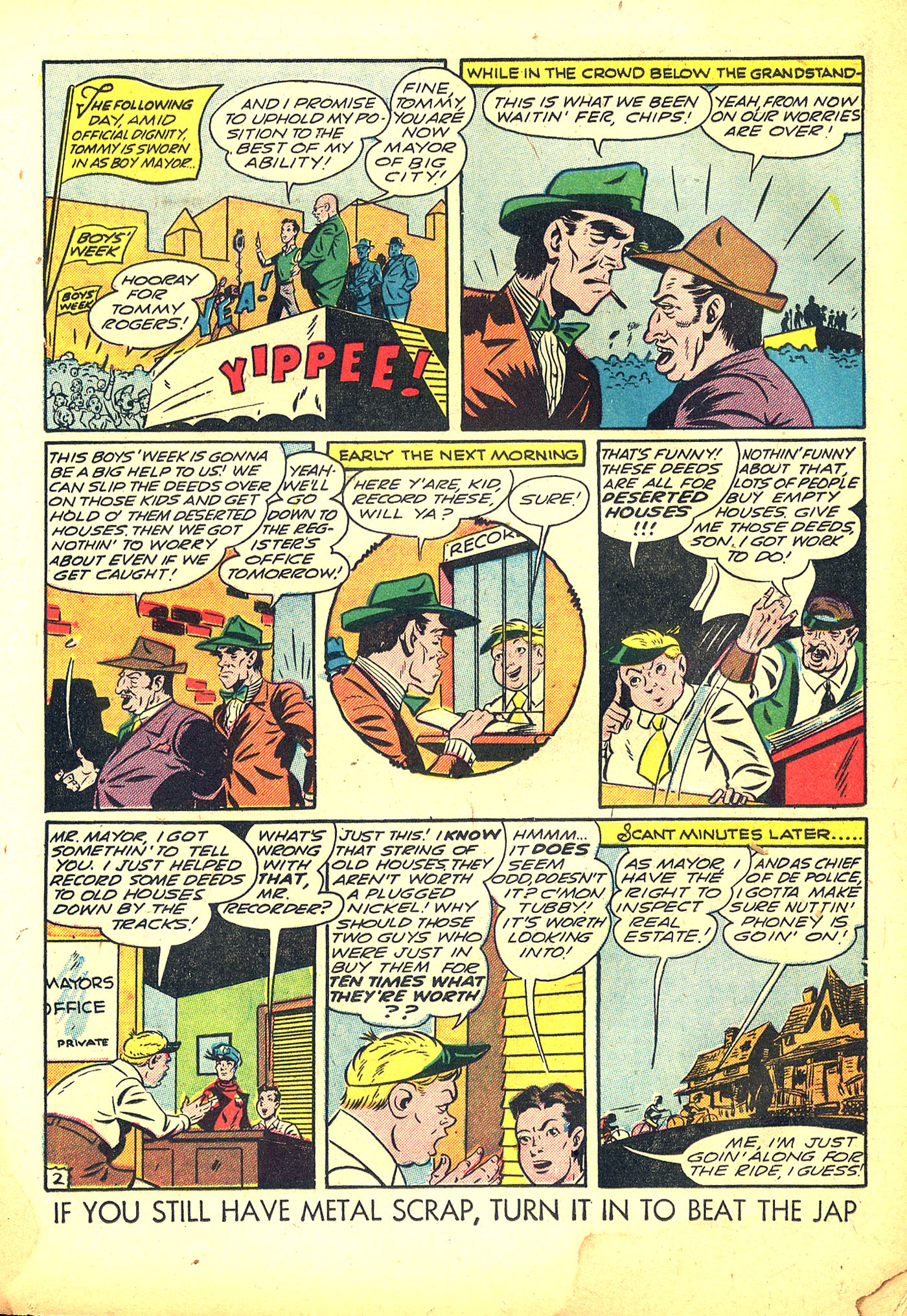 Read online Sensation (Mystery) Comics comic -  Issue #31 - 27