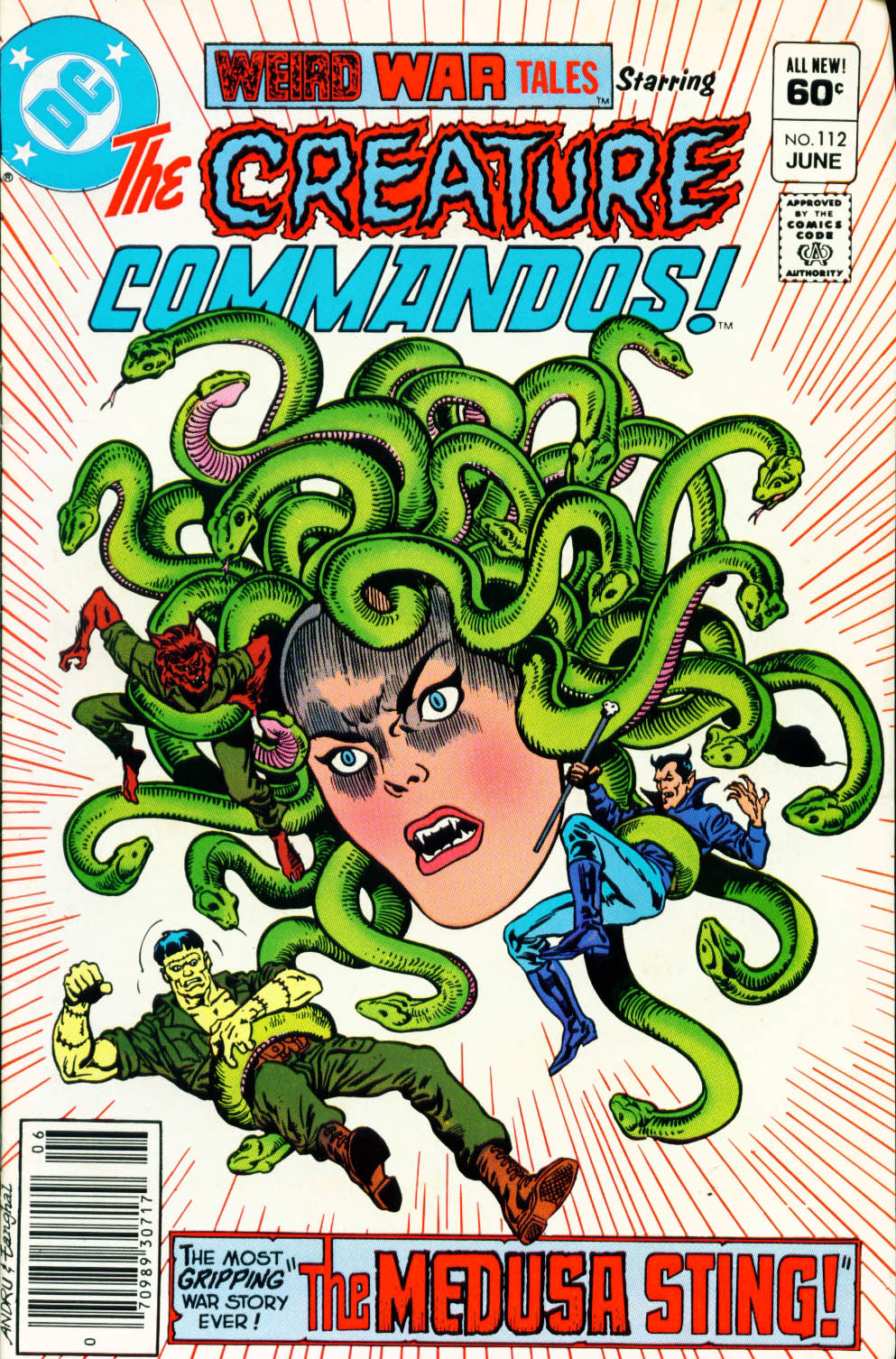 Weird War Tales (1971) issue 112 - Page 1