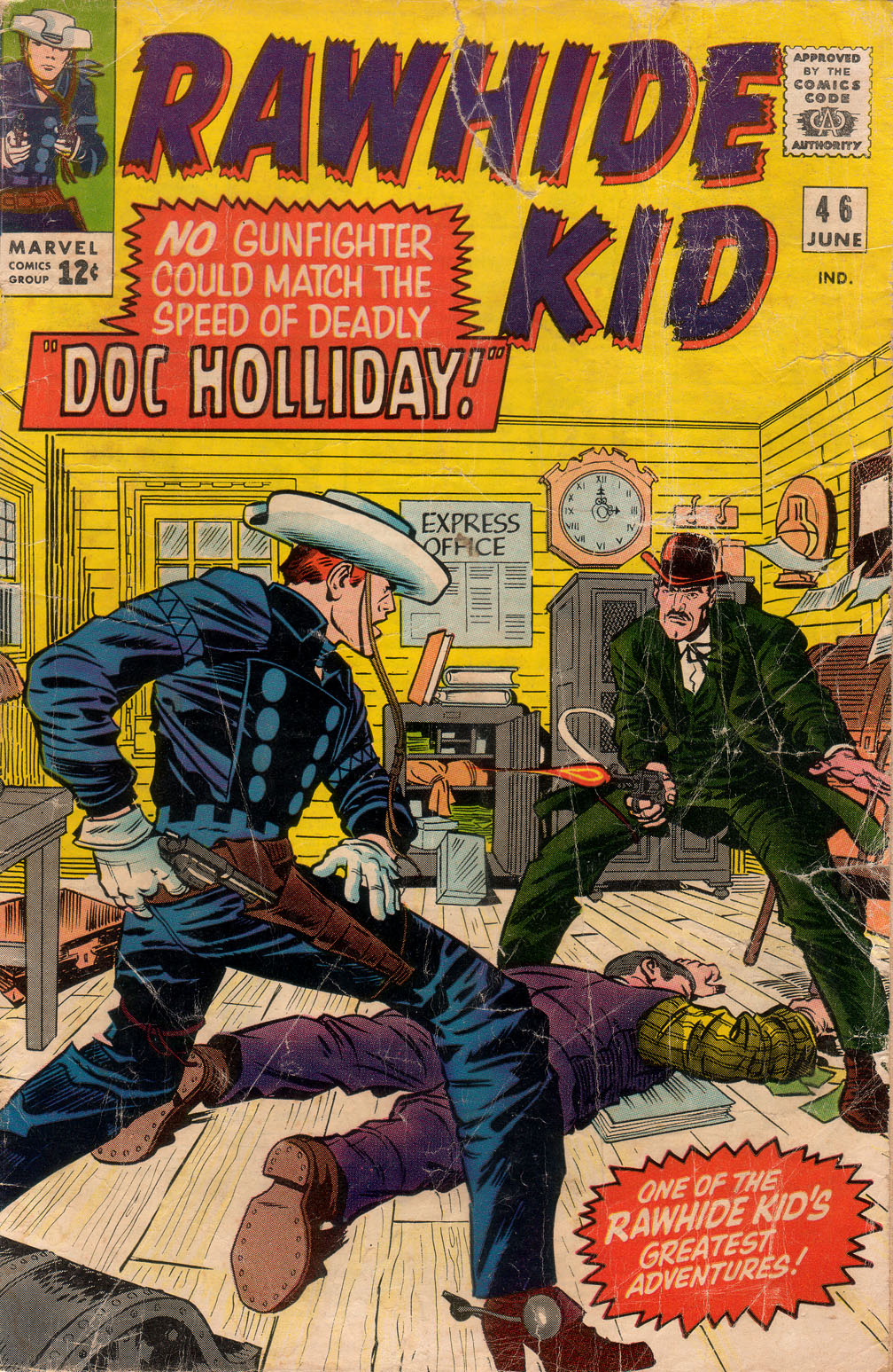 The Rawhide Kid (1955) issue 46 - Page 1