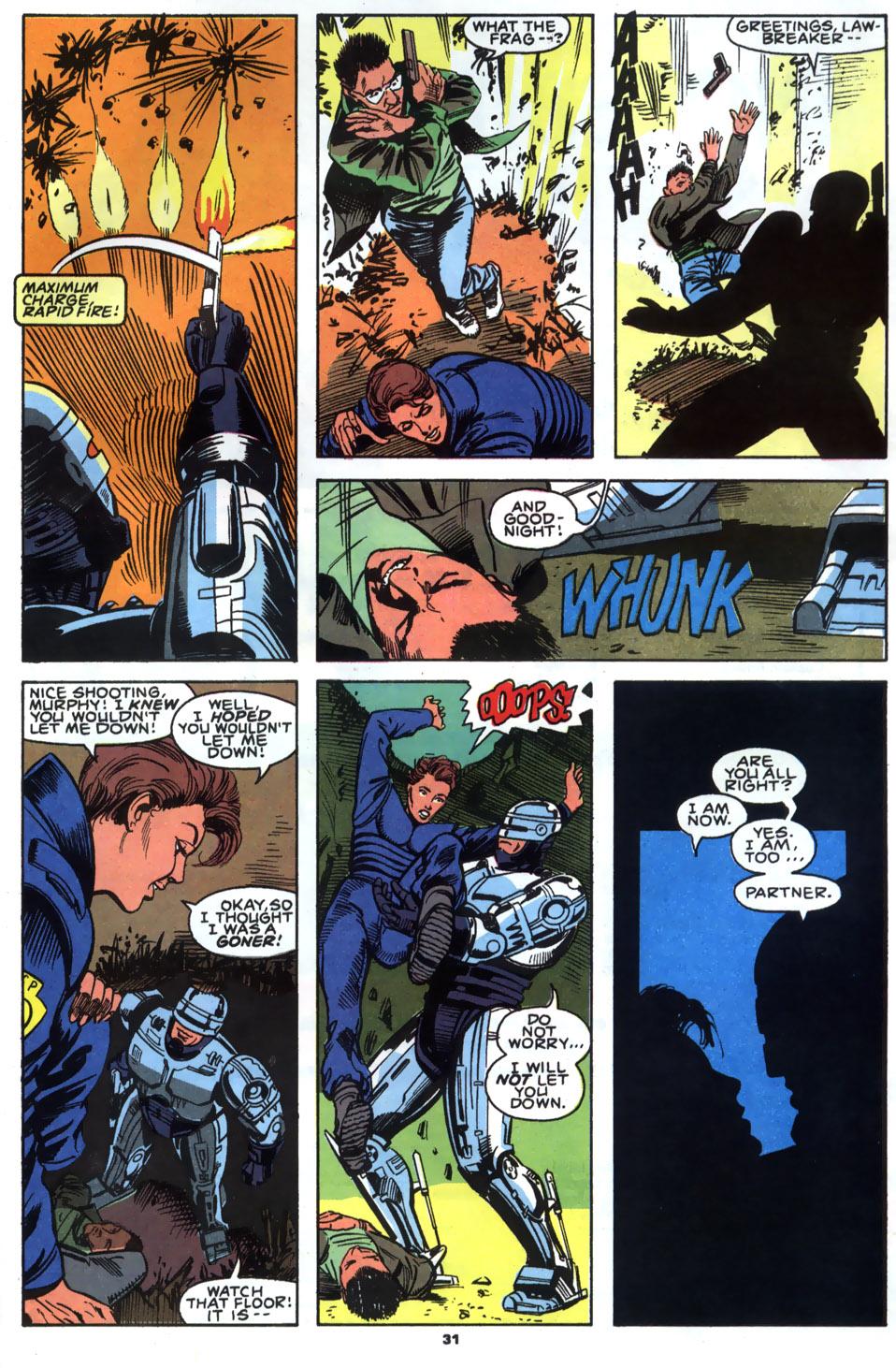 Read online Robocop (1990) comic -  Issue #2 - 24