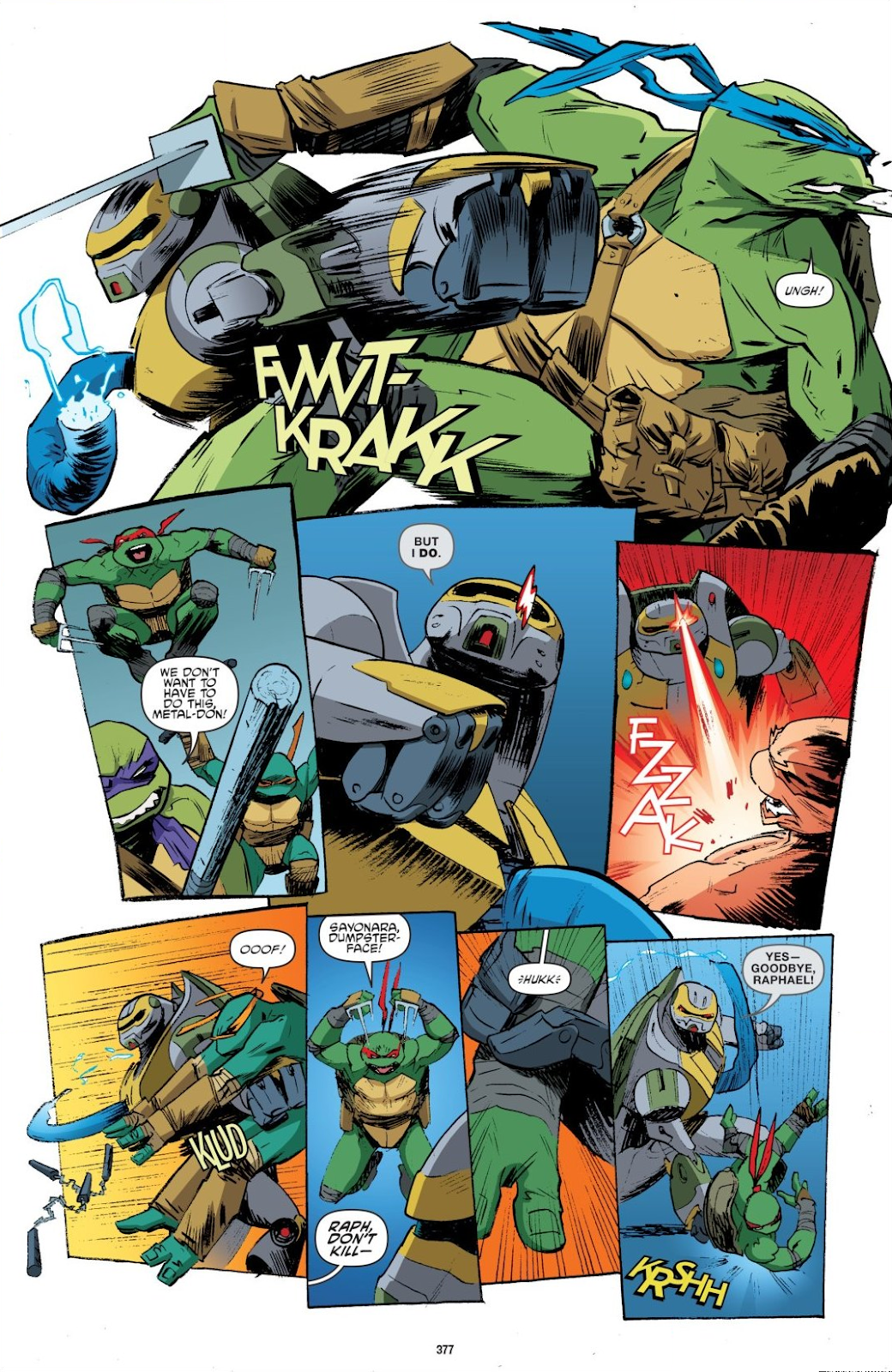 Read online Teenage Mutant Ninja Turtles: The IDW Collection comic -  Issue # TPB 8 (Part 4) - 74