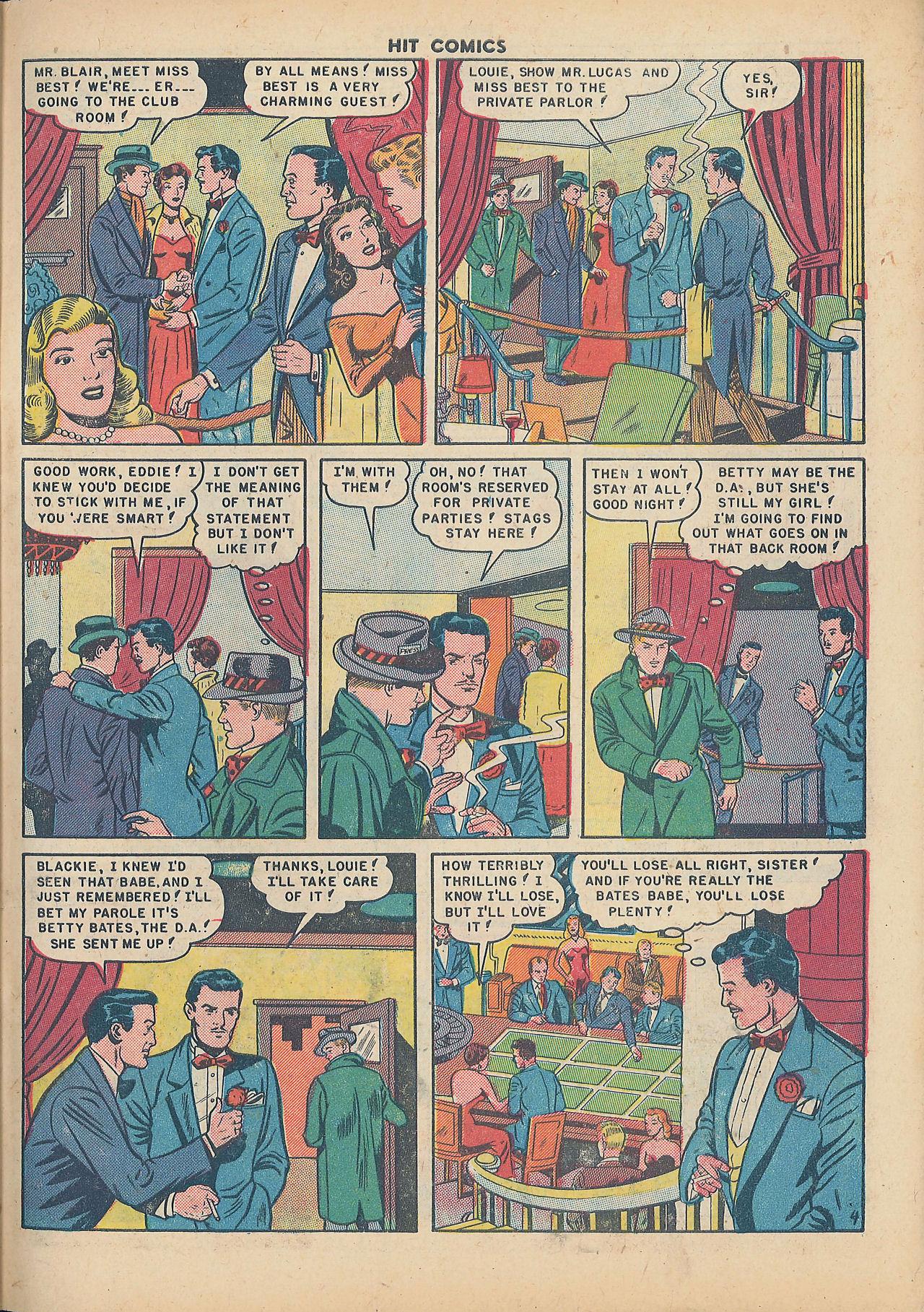 Read online Hit Comics comic -  Issue #64 - 31