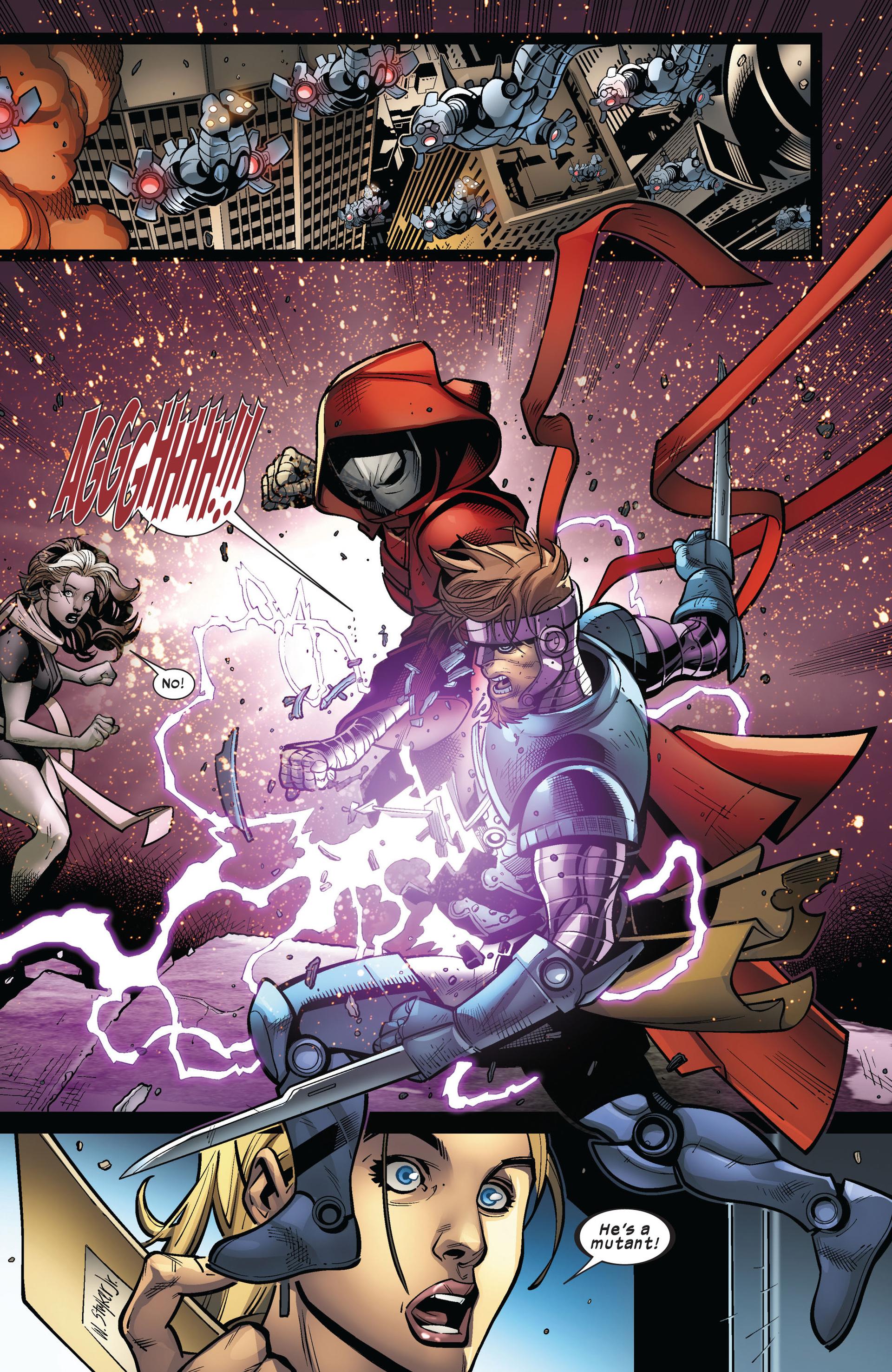 Read online Ultimate Comics X-Men comic -  Issue #5 - 21