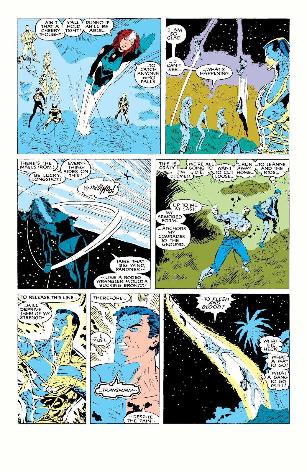 Read online X-Men Milestones: Fall of the Mutants comic -  Issue # TPB (Part 1) - 80