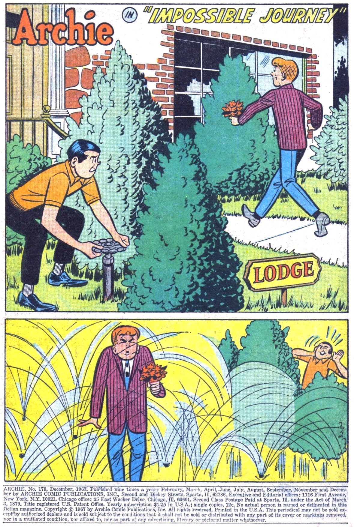 Read online Archie (1960) comic -  Issue #178 - 3