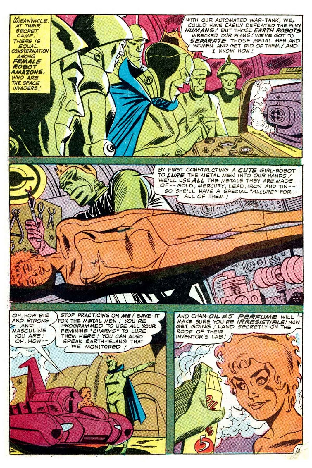 Metal Men (1963) issue 32 - Page 15