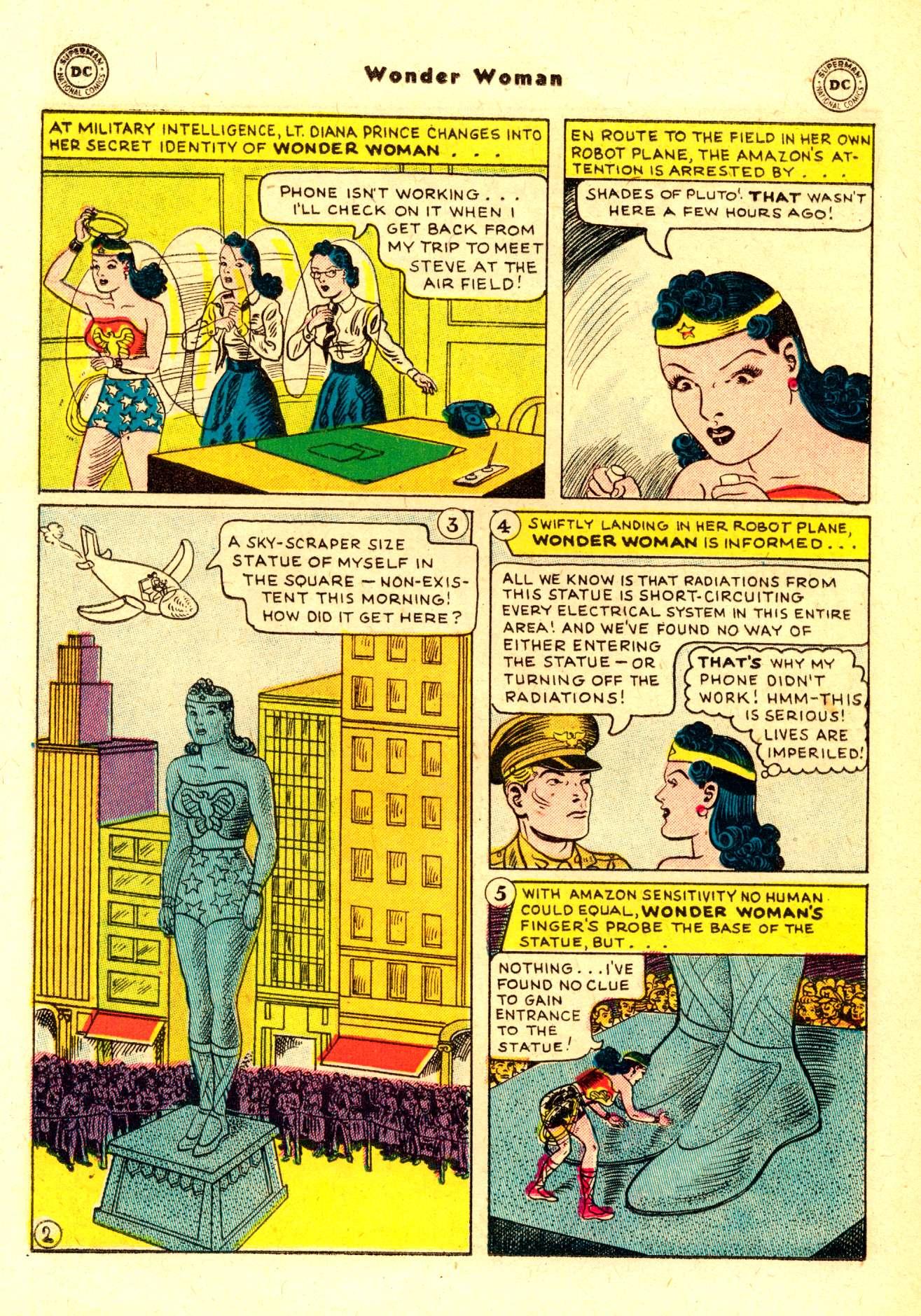 Read online Wonder Woman (1942) comic -  Issue #84 - 15