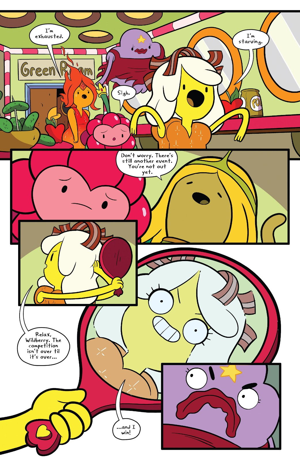 Read online Adventure Time comic -  Issue #63 - 10