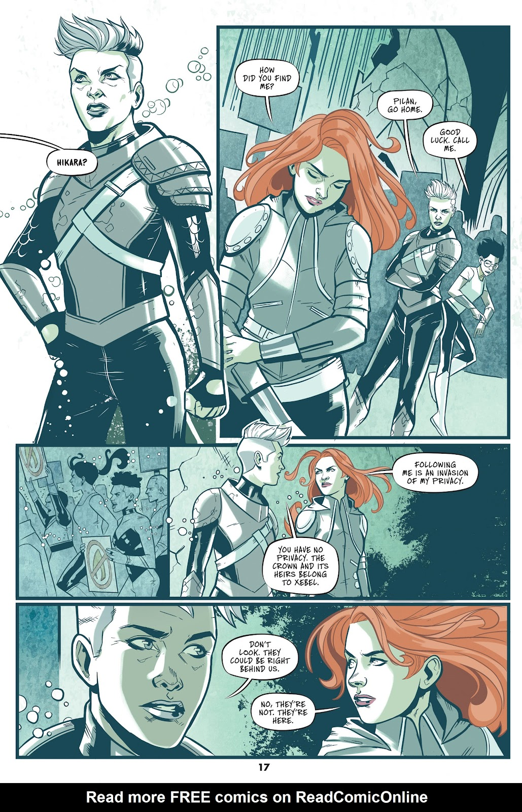 Read online Mera: Tidebreaker comic -  Issue # TPB (Part 1) - 17