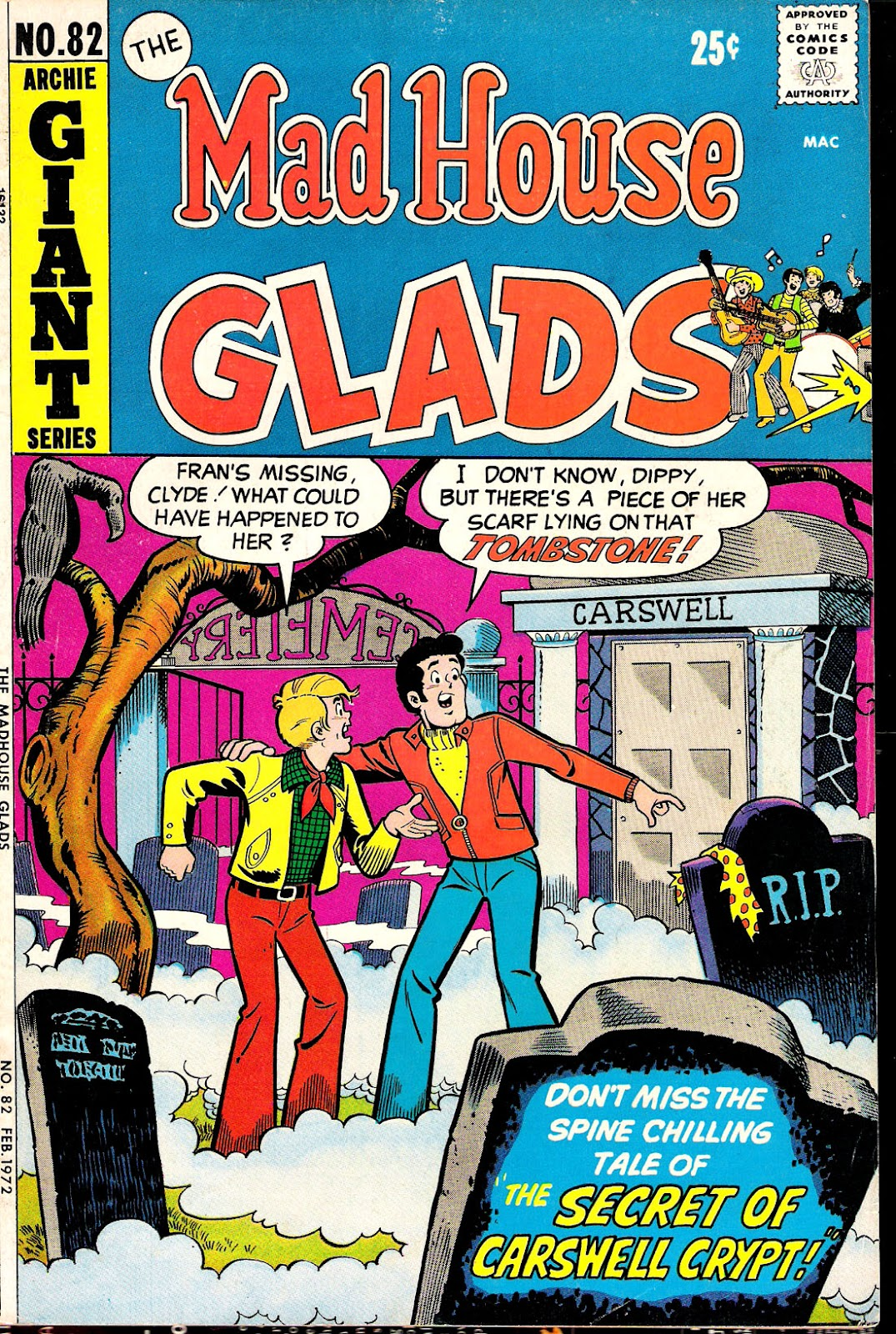 Read online The Mad House Glads comic -  Issue #82 - 1